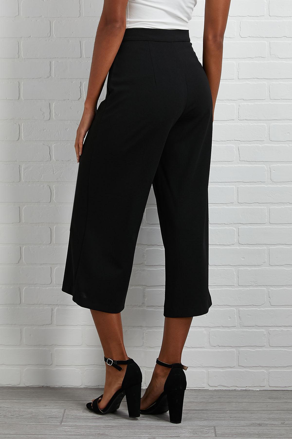 Utility Cropped Pants