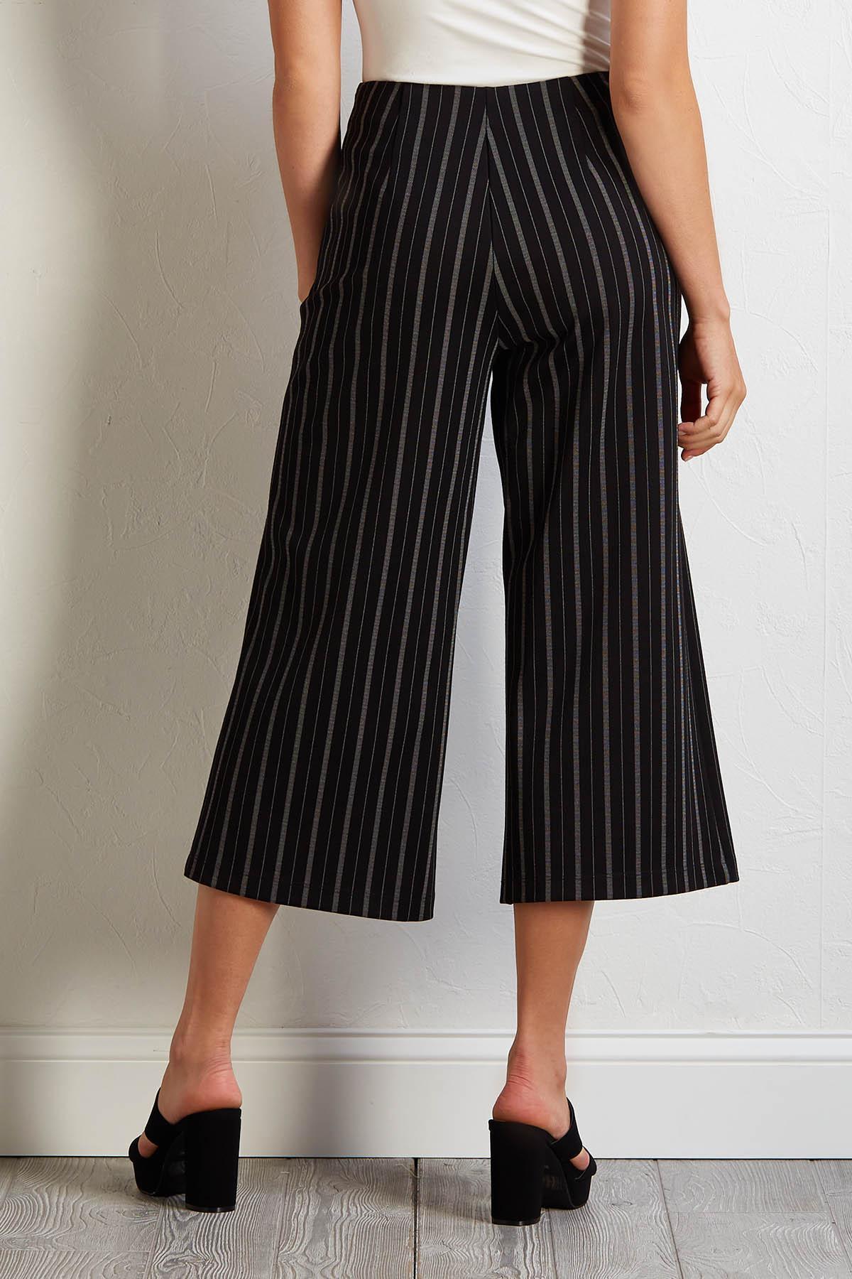 Cropped Menswear Pants