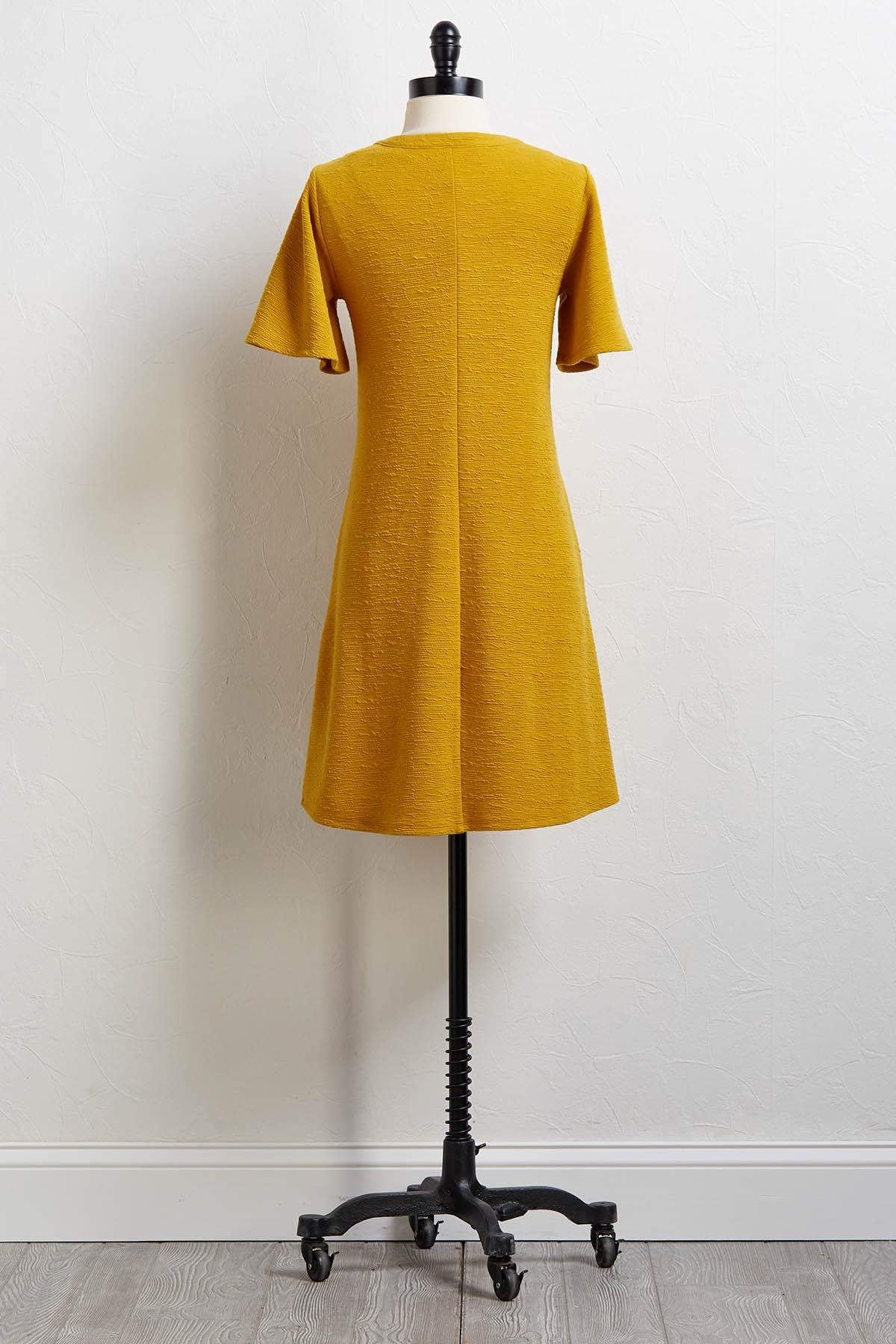 Good As Gold Swing Dress