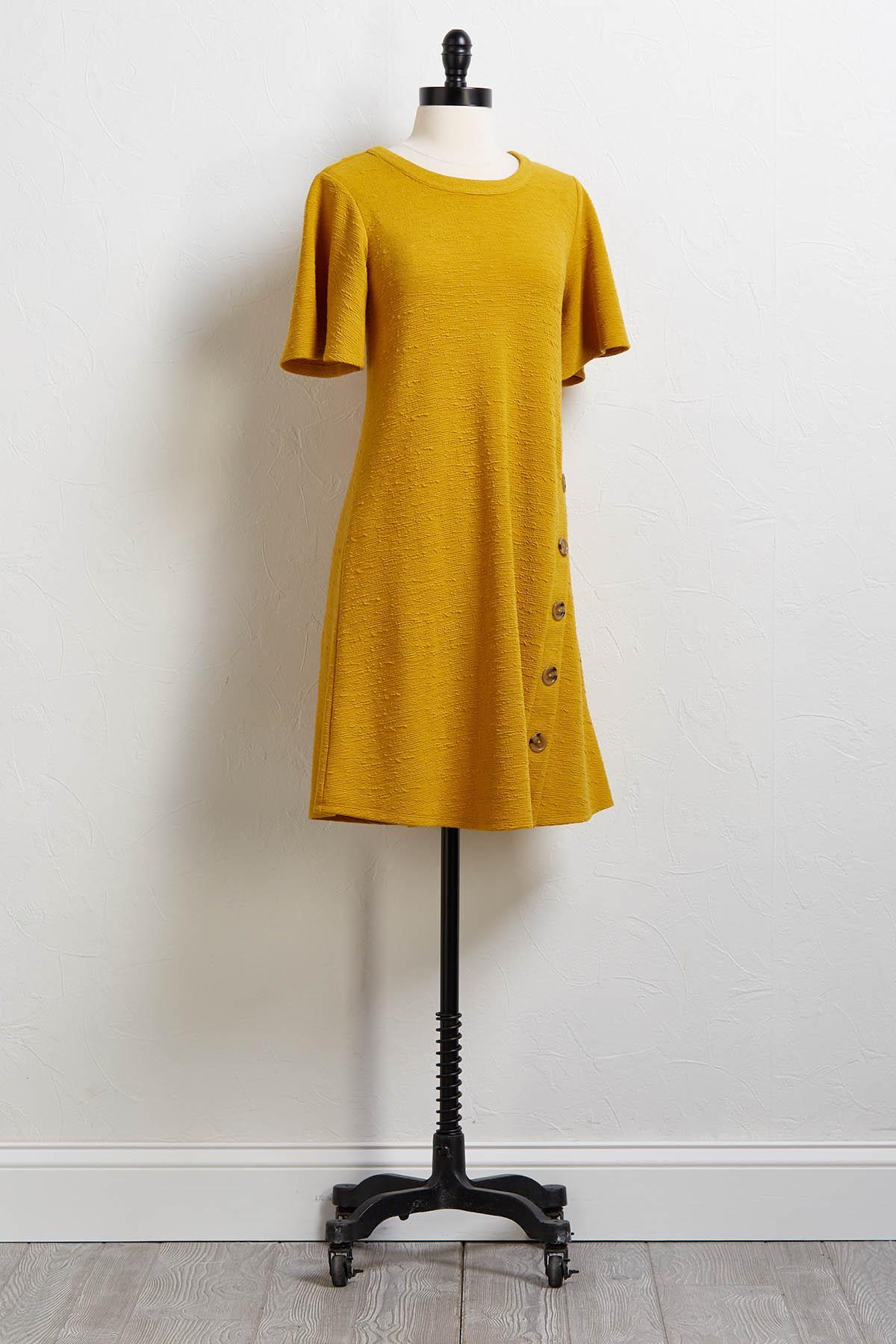 Good As Gold Swing Dress