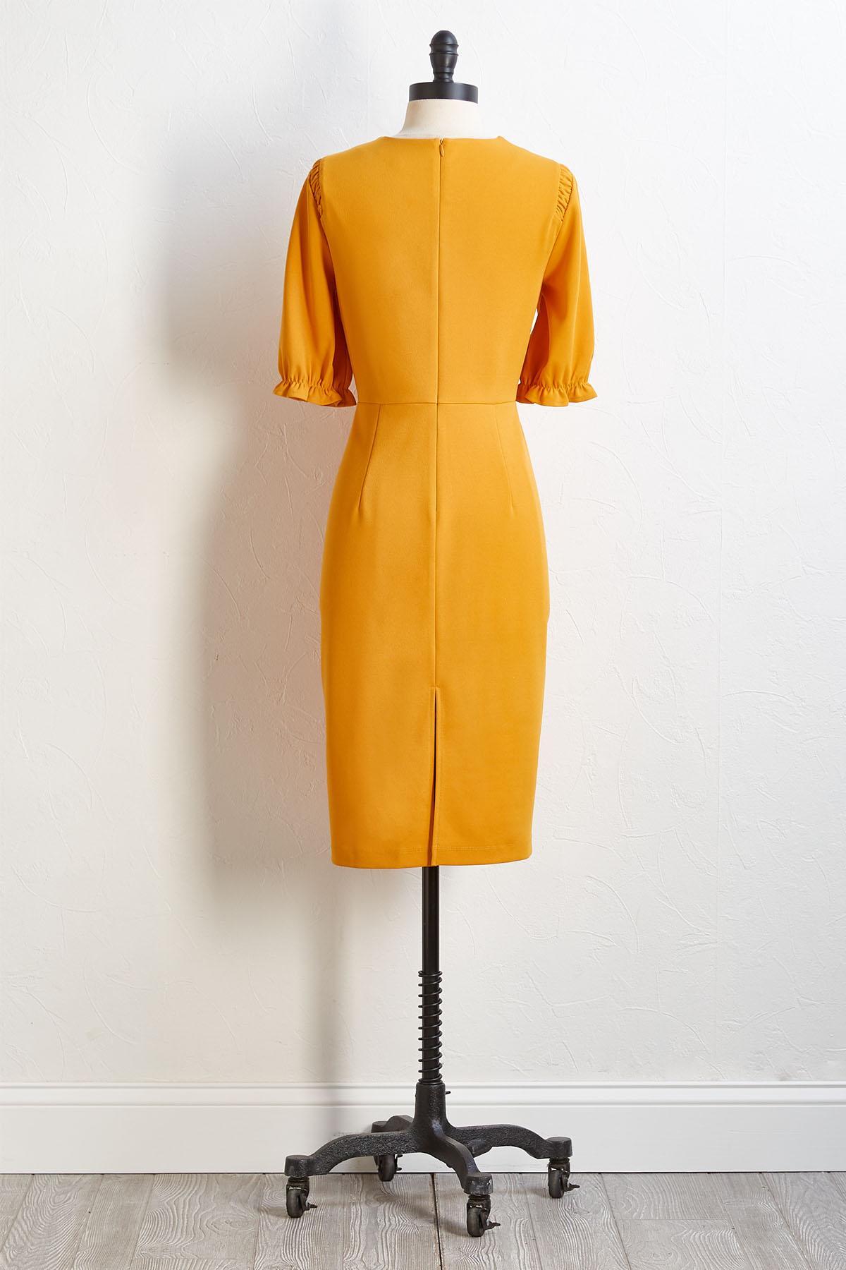 Had Me At Yellow Dress