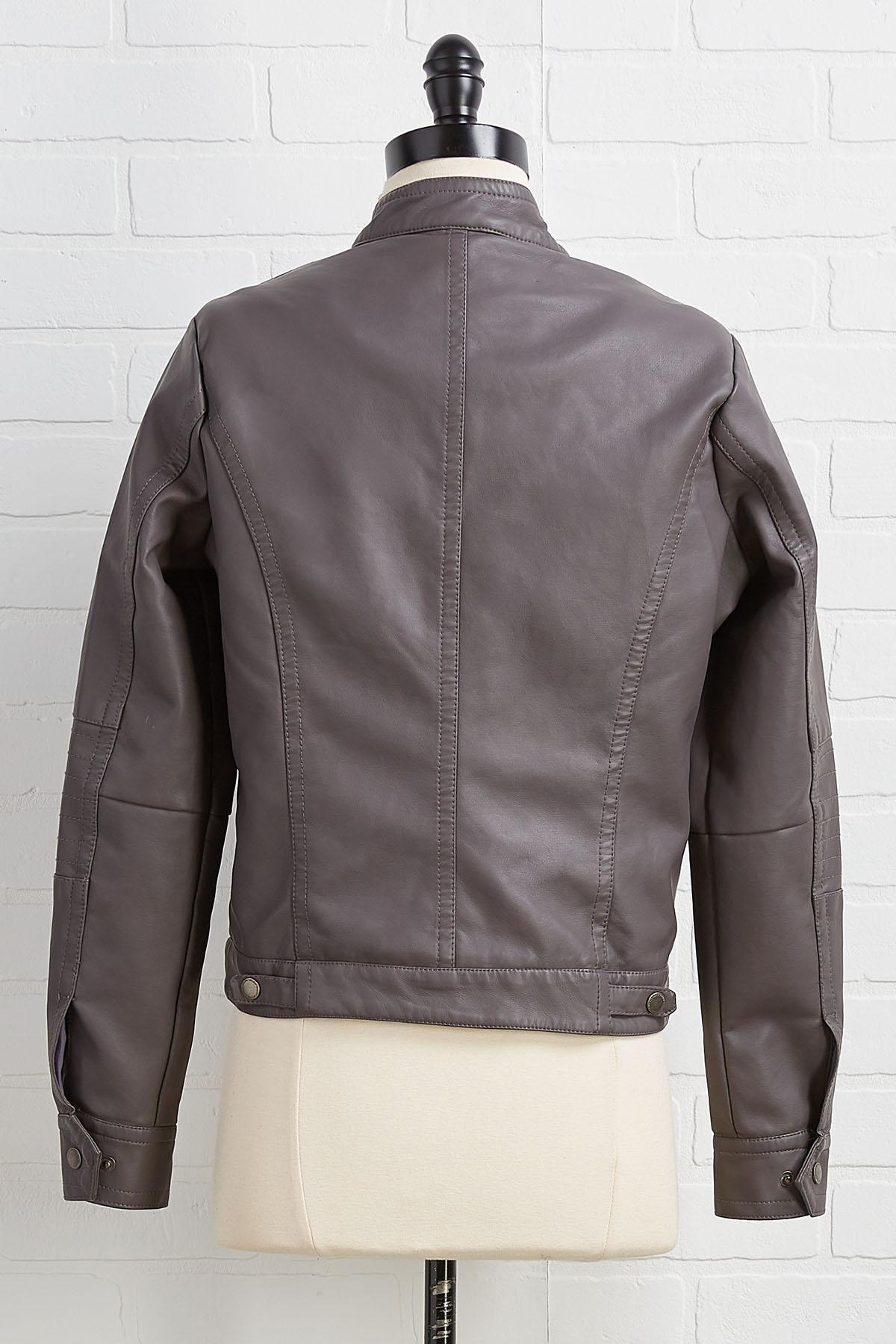 Leather Say Never Jacket