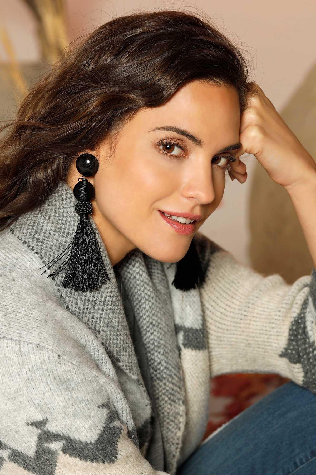 What A Tassel Earrings