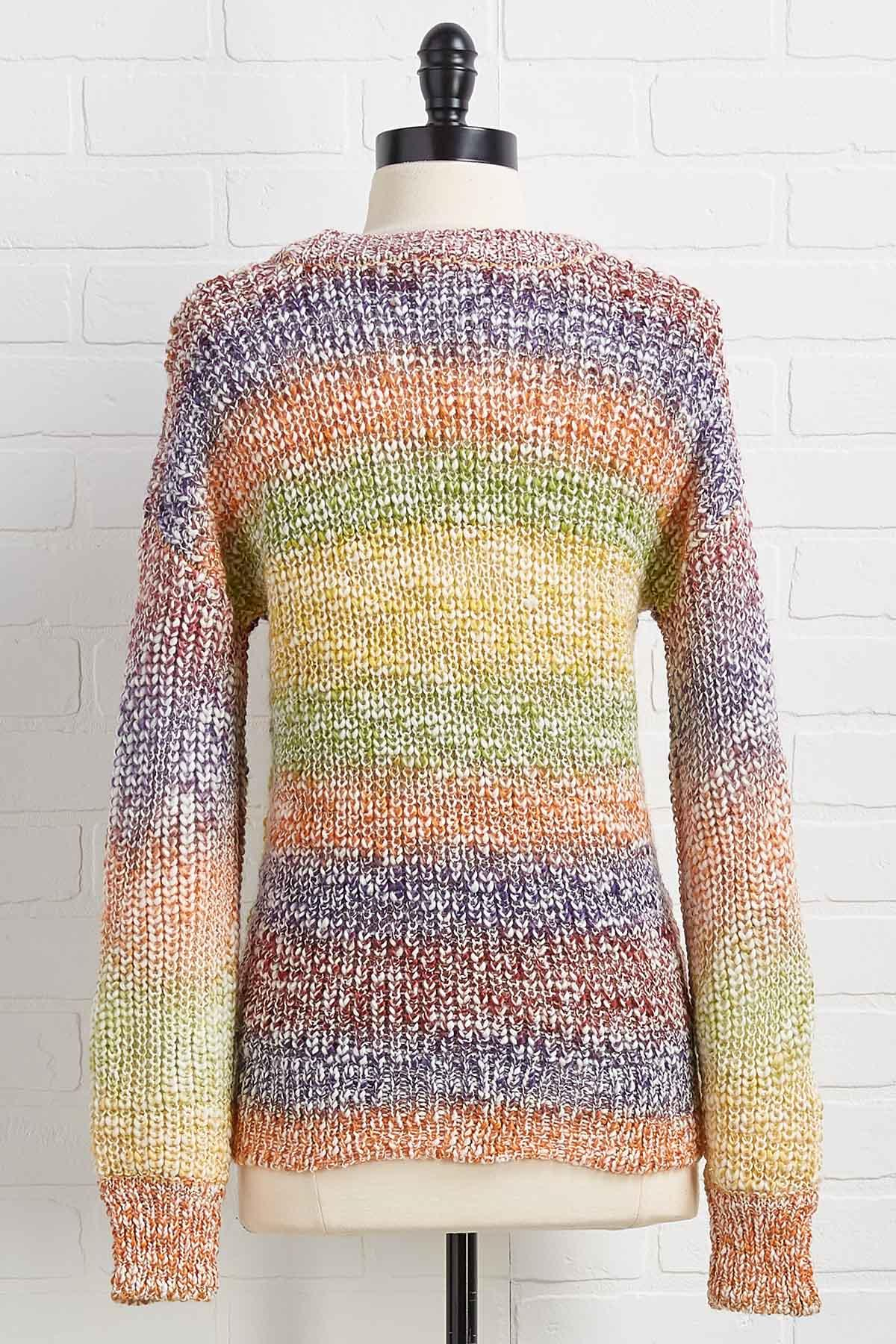 Feel The Rainbow Sweater