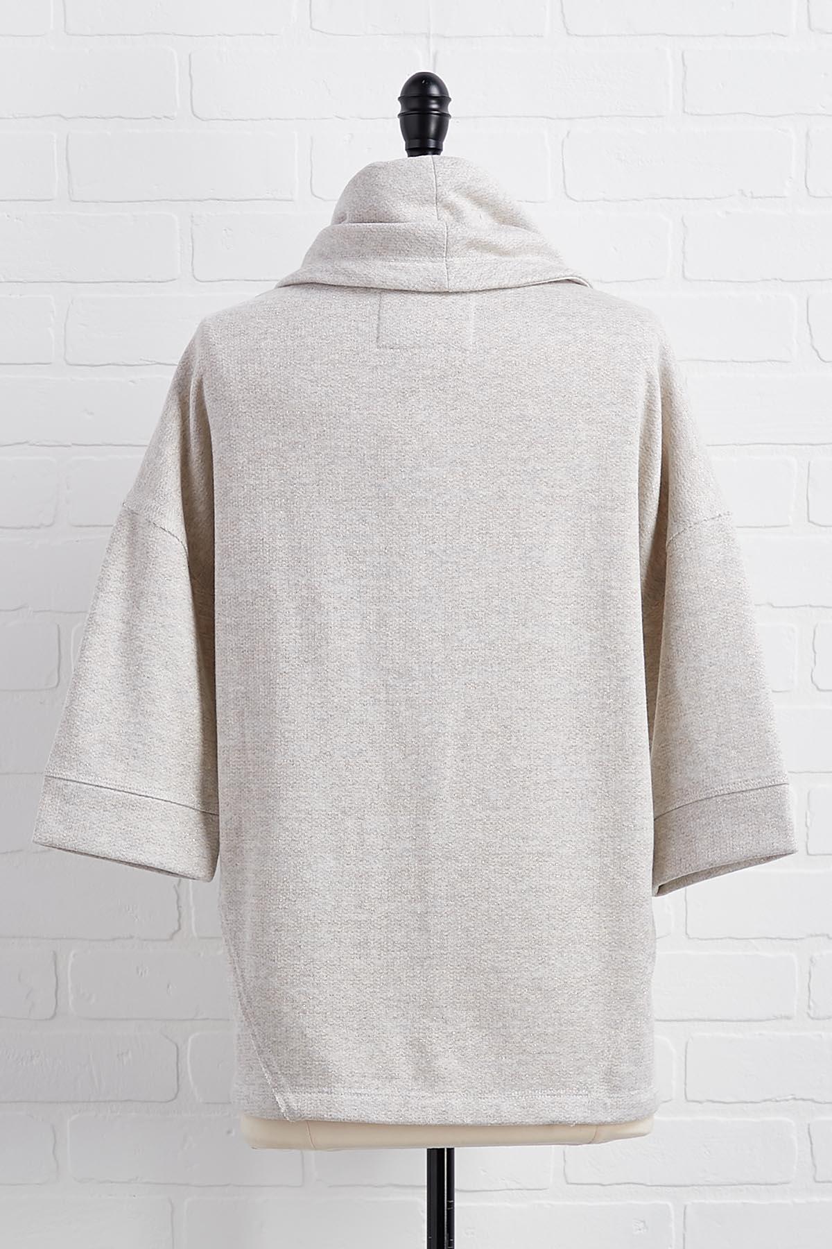 A Dash Of Dazzle Pullover Top