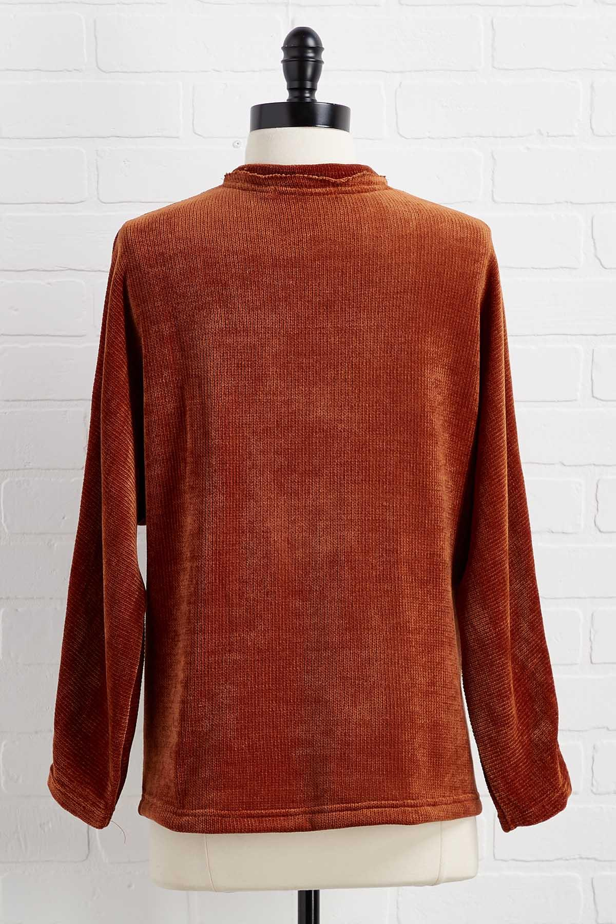 Chenille Out Top