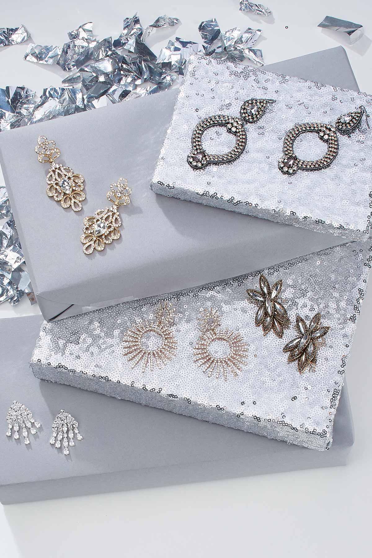 Cluster Bling Earrings