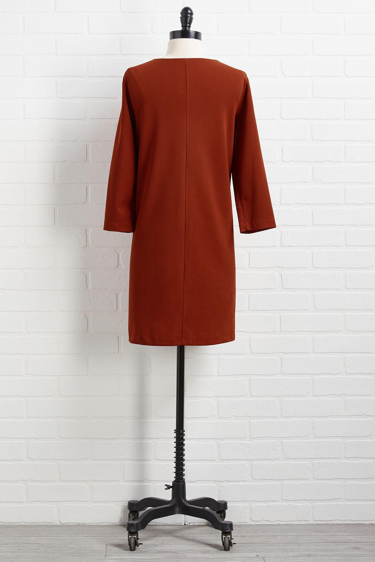 Pocket Shift Dress