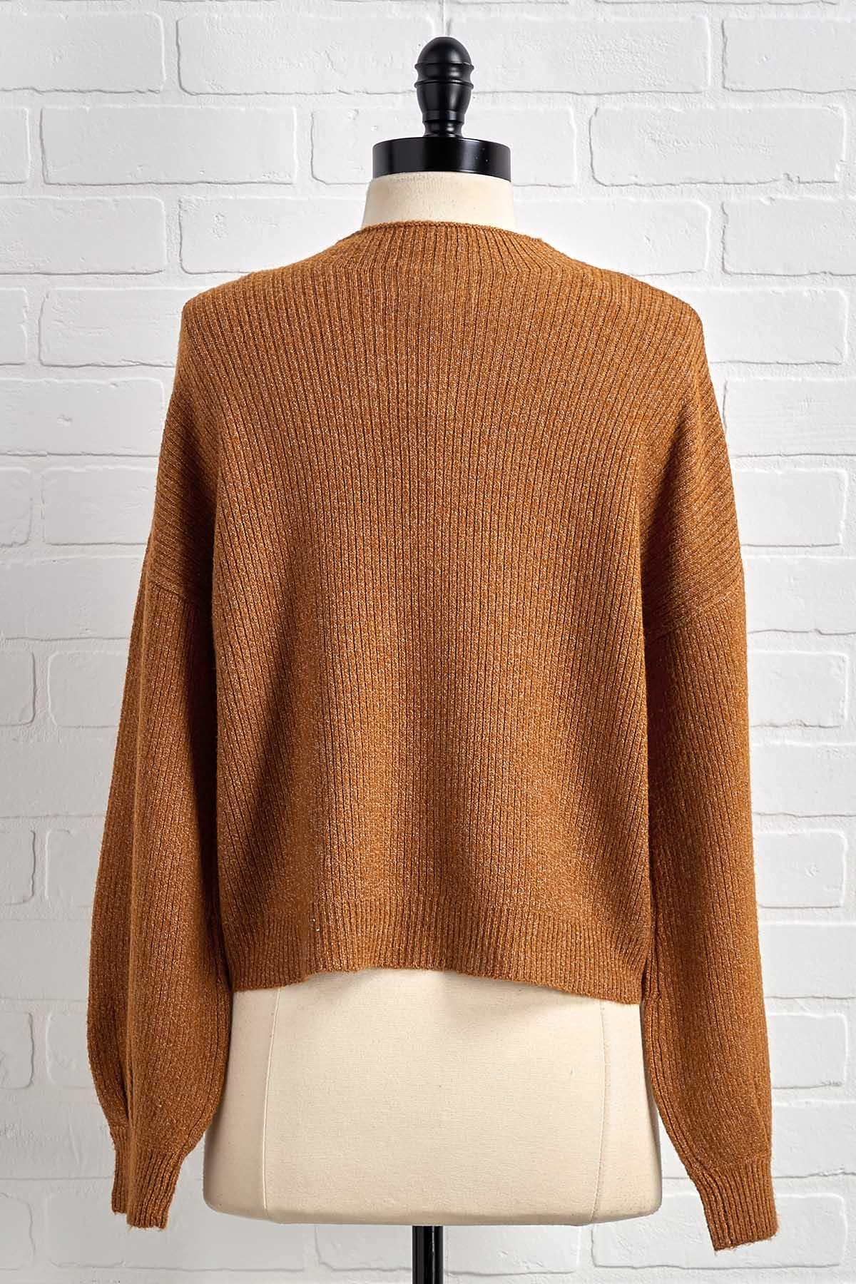 Coming Up Short Sweater