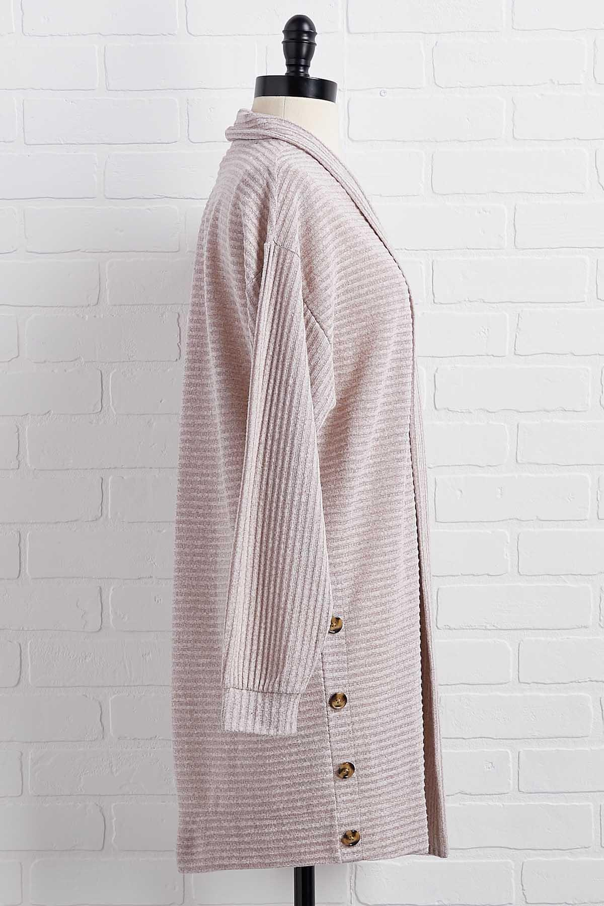Turn Knit Up Cardigan