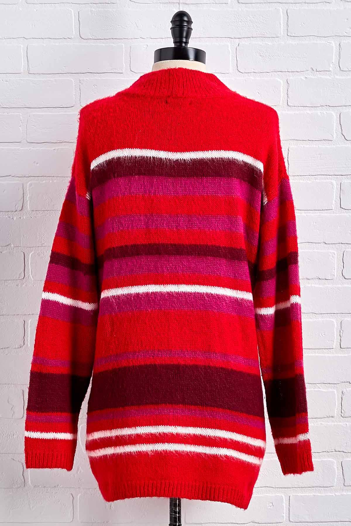 Candy Cane Stripe Sweater