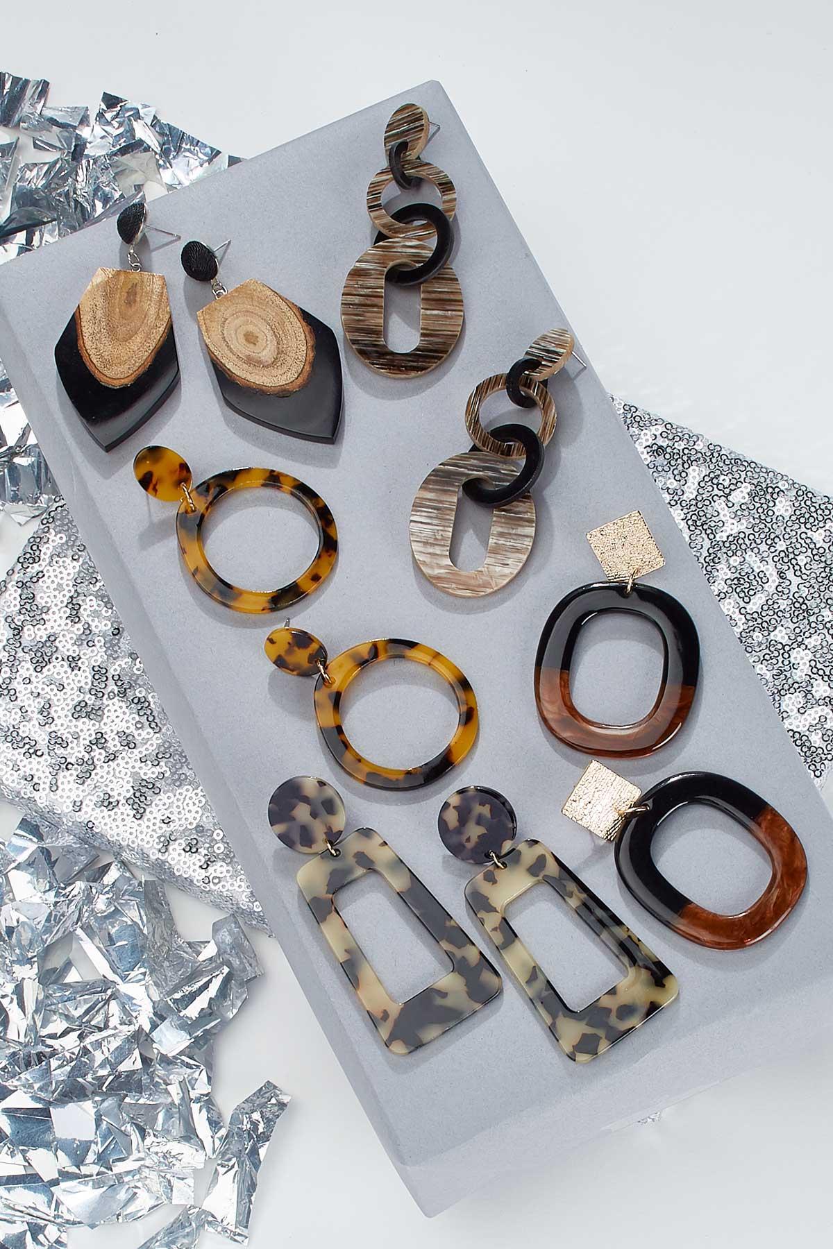 Animal Lucite Earrings