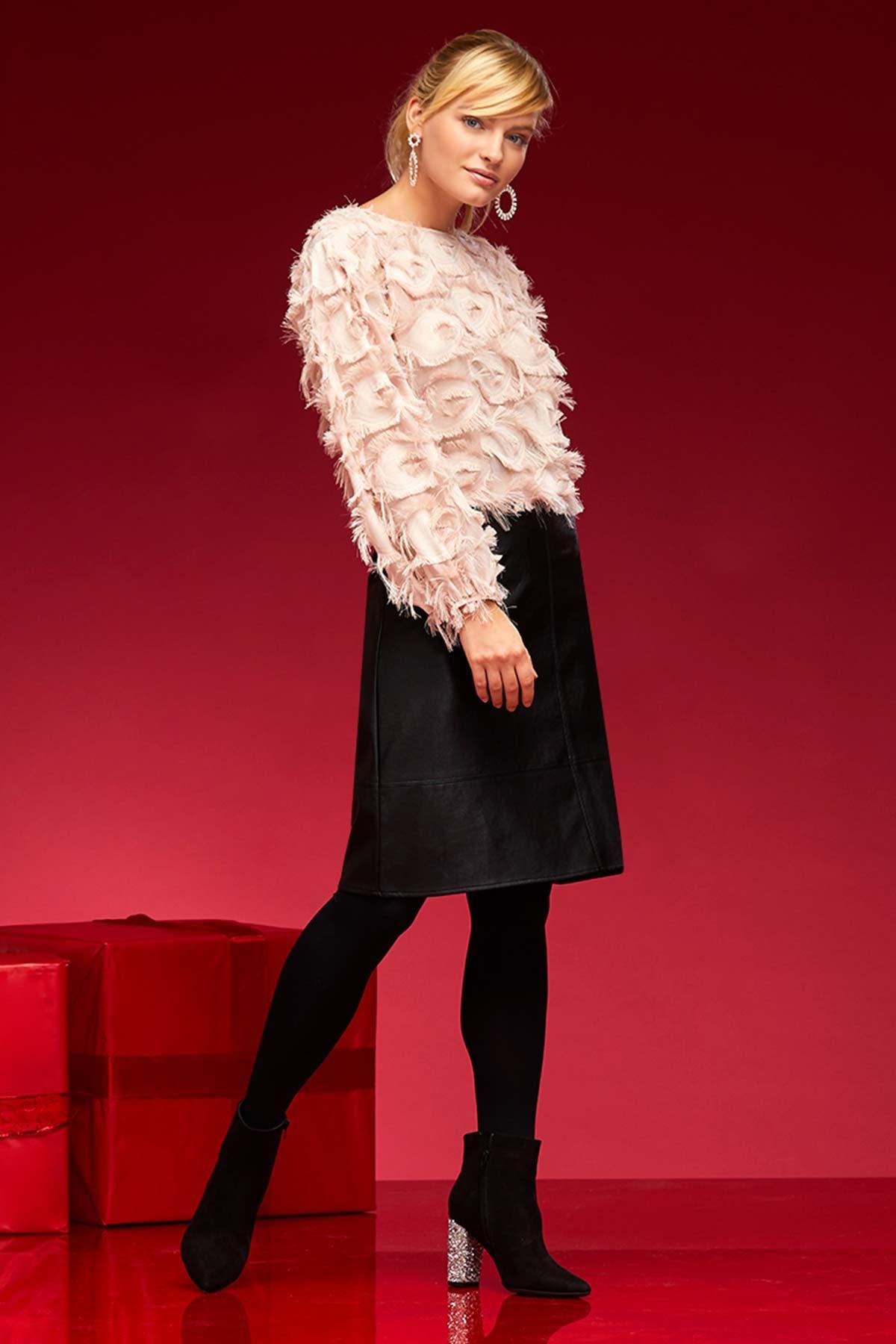 Faux Sure Skirt