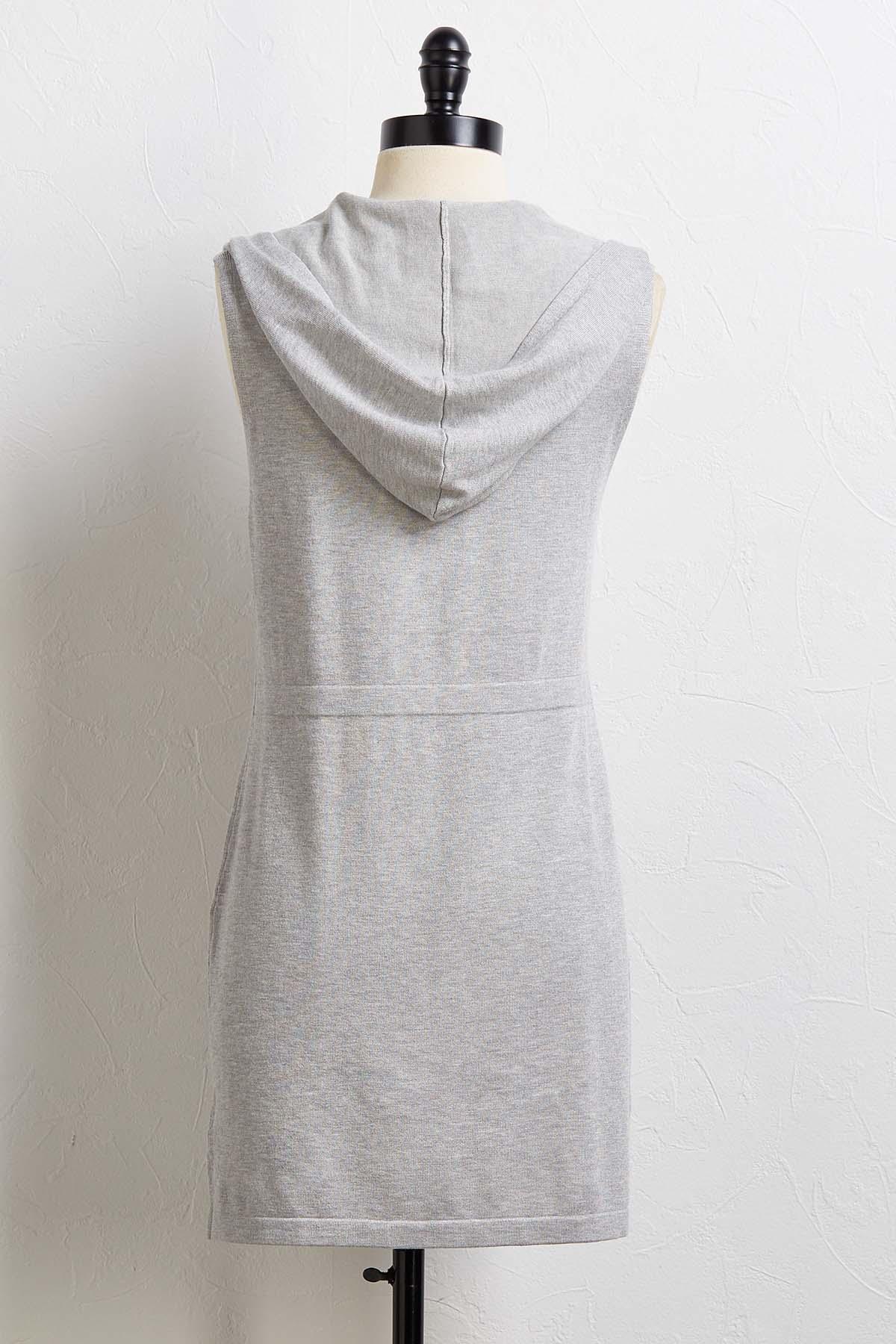 Hooded Pocket Vest