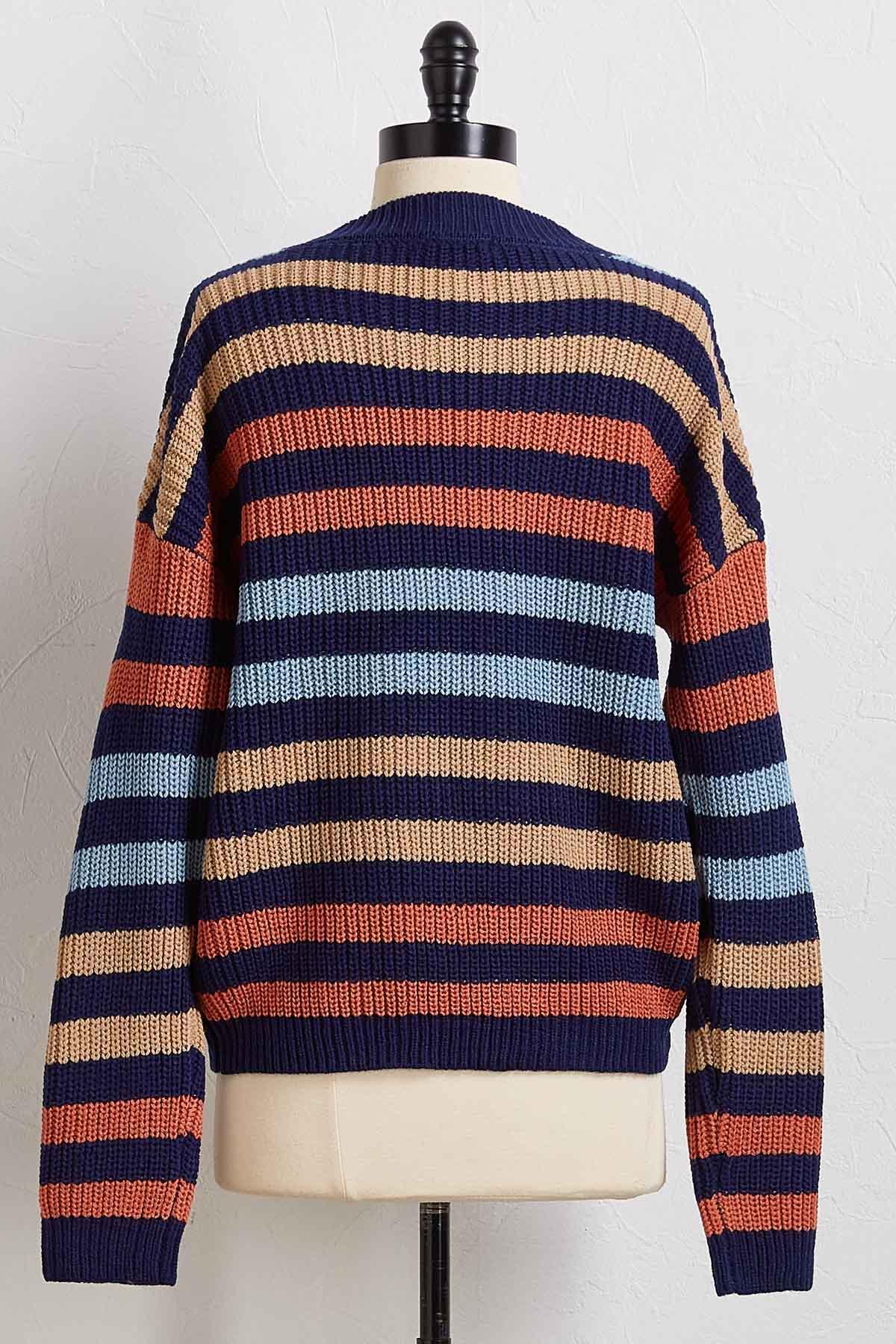 Not The Jealous Stripe Sweater