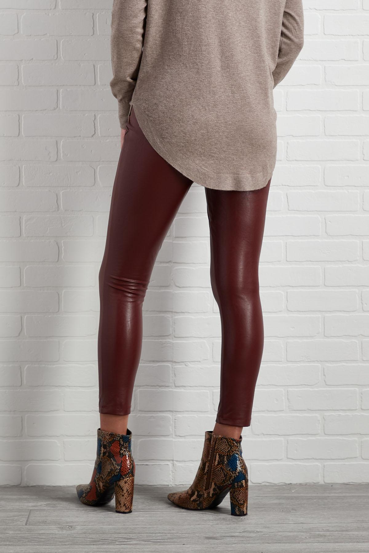 Leather Or Not Leggings