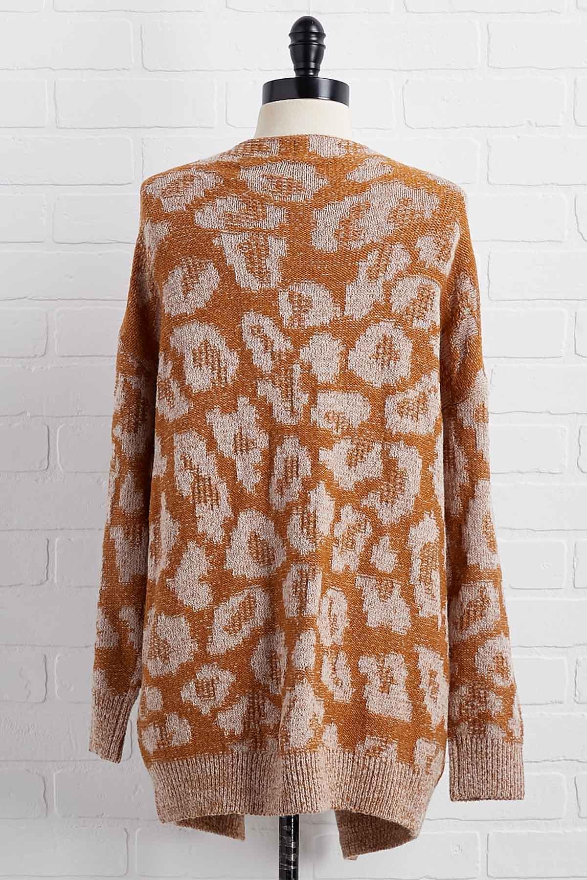 Saved A Spot Cardigan Sweater