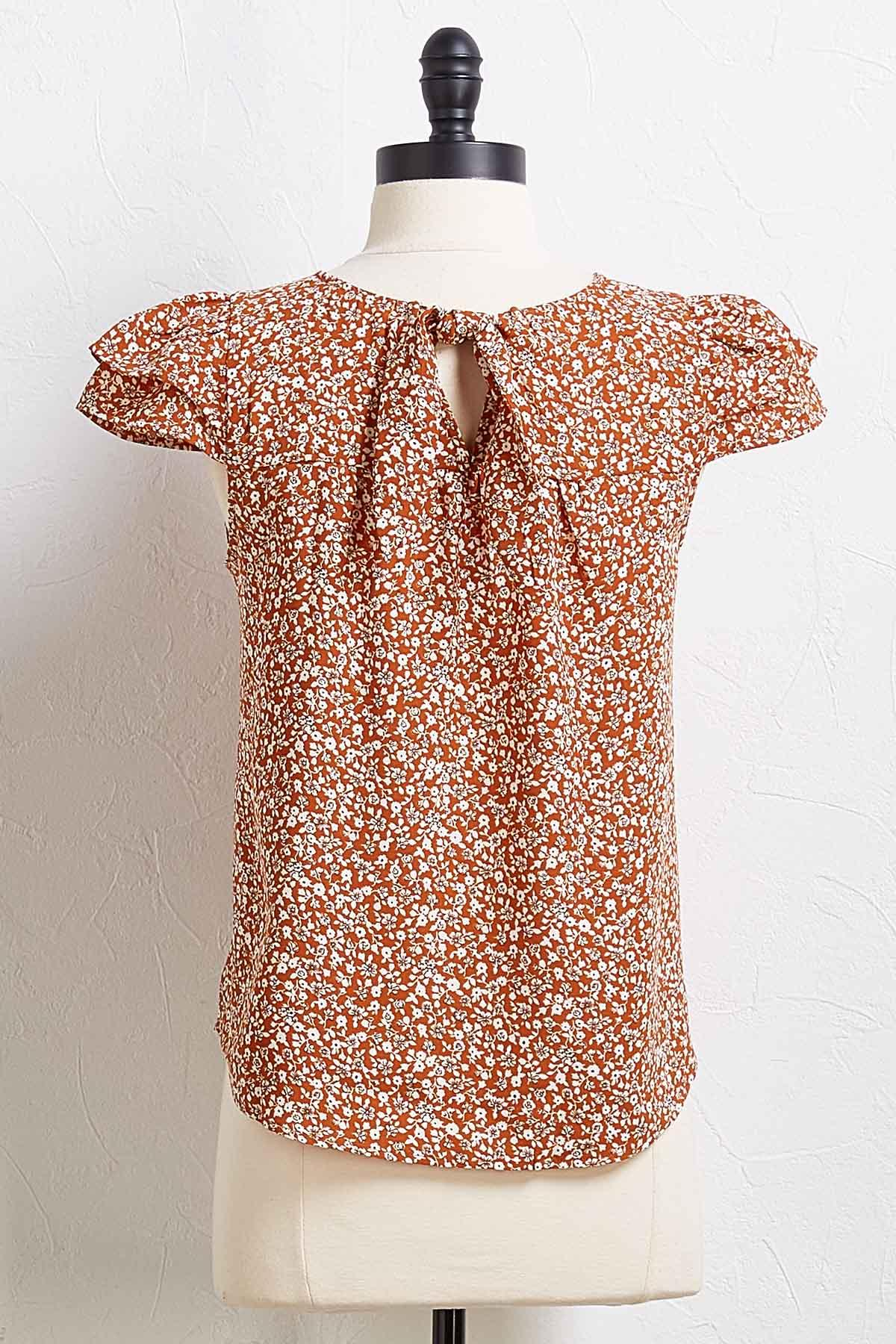 Laura Floral Top