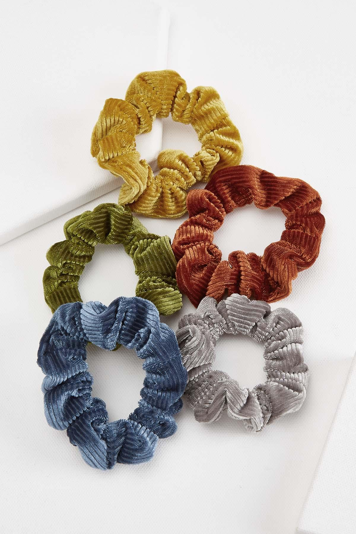 Ribbed Scrunchie Set