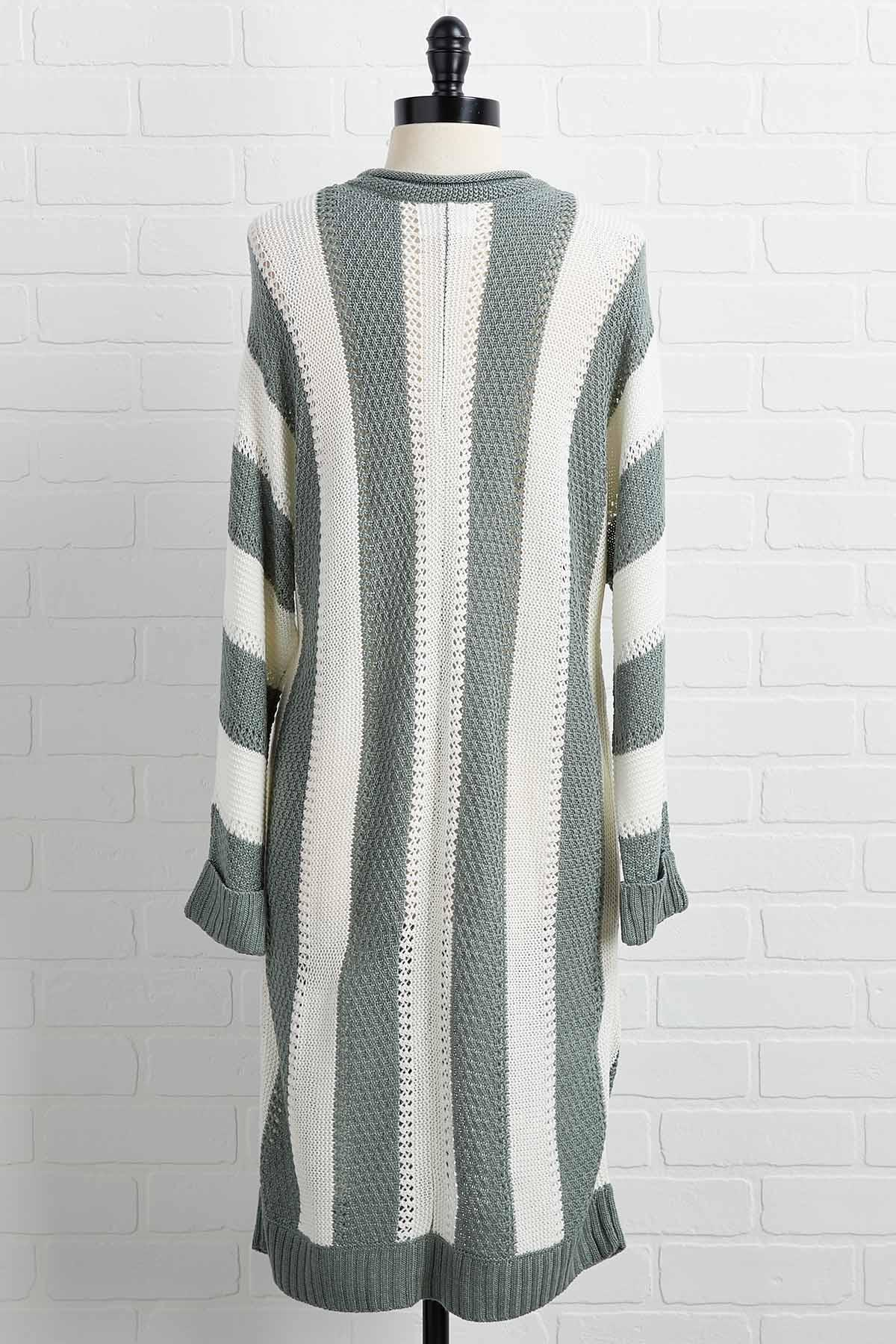 Three Stripes You ` Re Out Cardigan