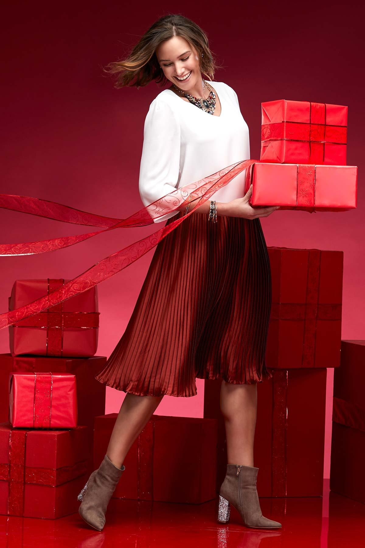 I ` Ll Take Red Pleats