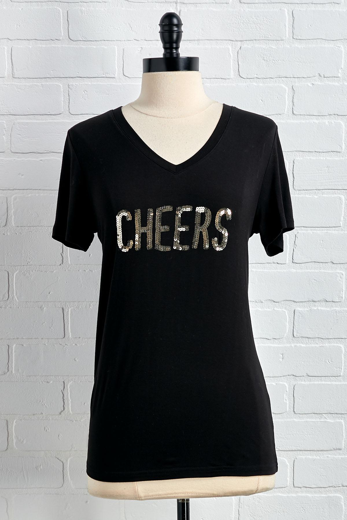 Cheers To Being Sparkly Top