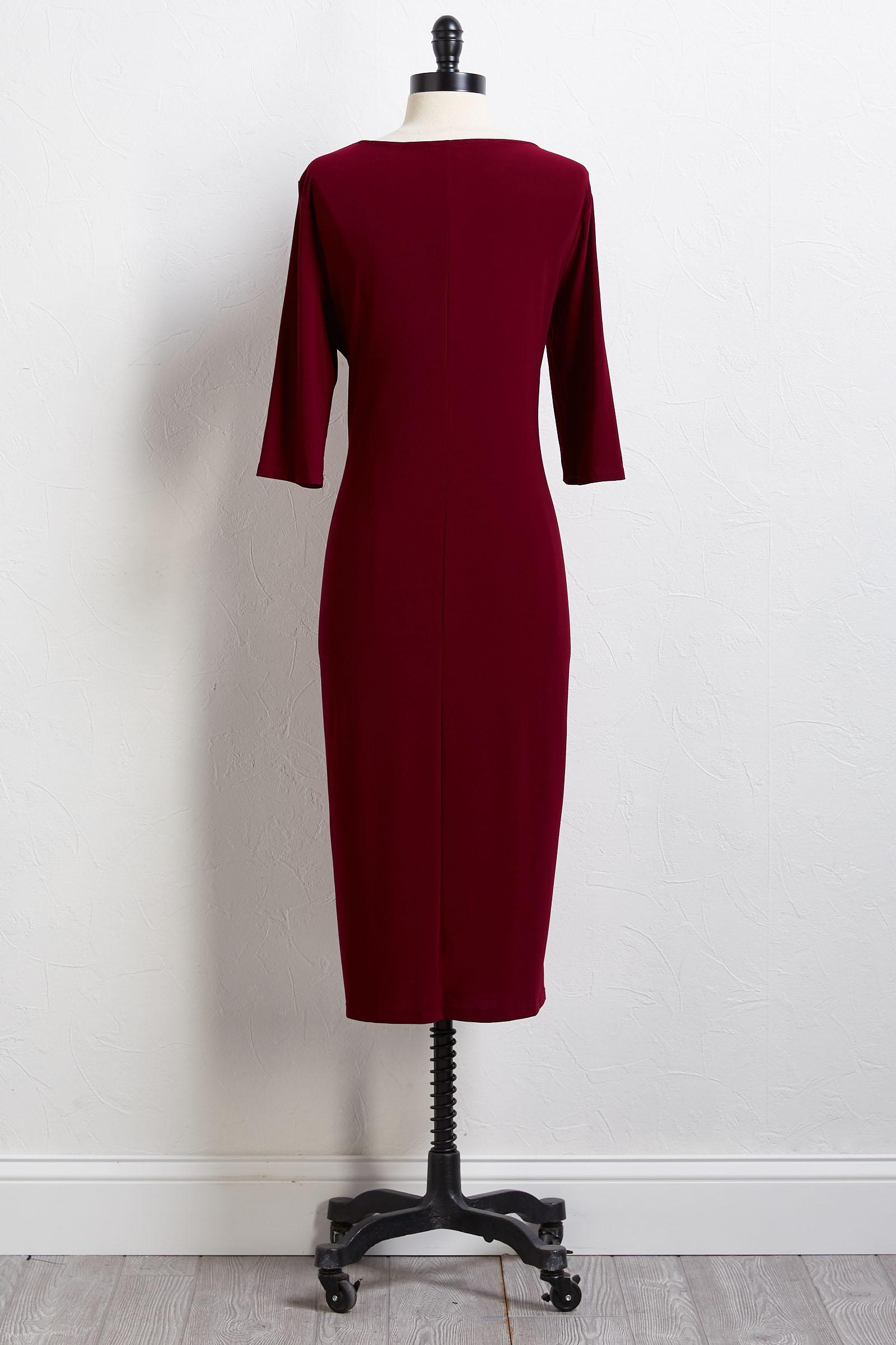 Zinfandel Tie Dress