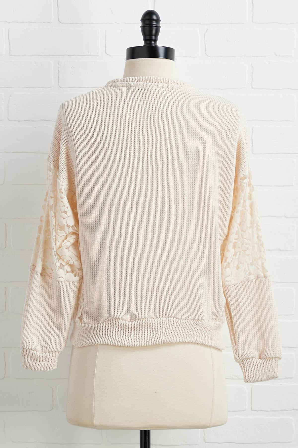 Feel The Chenille Sweater