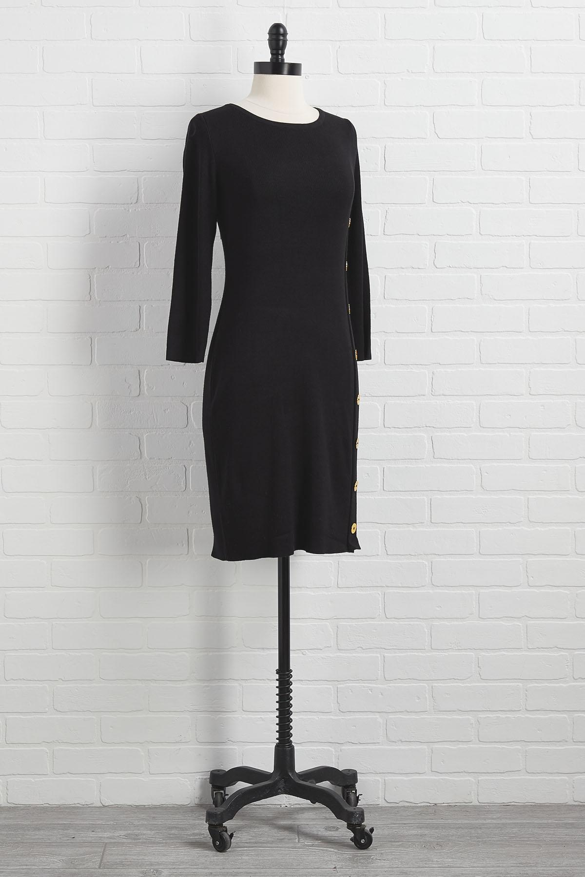 Chills And Thrills Sweater Dress