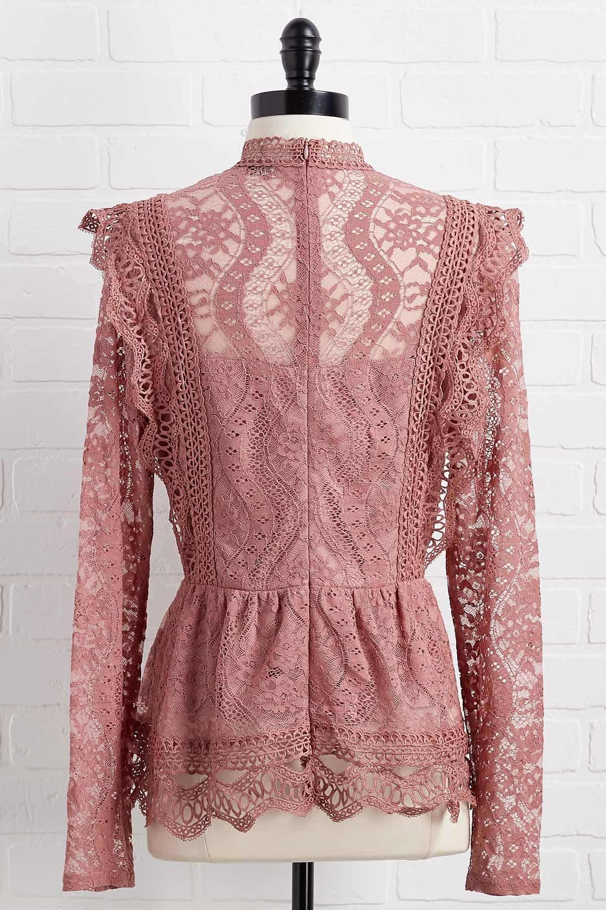 Don ` T Be Two Laced Top