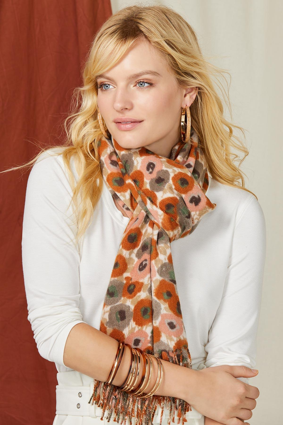 Beautiful Blossoms Scarf