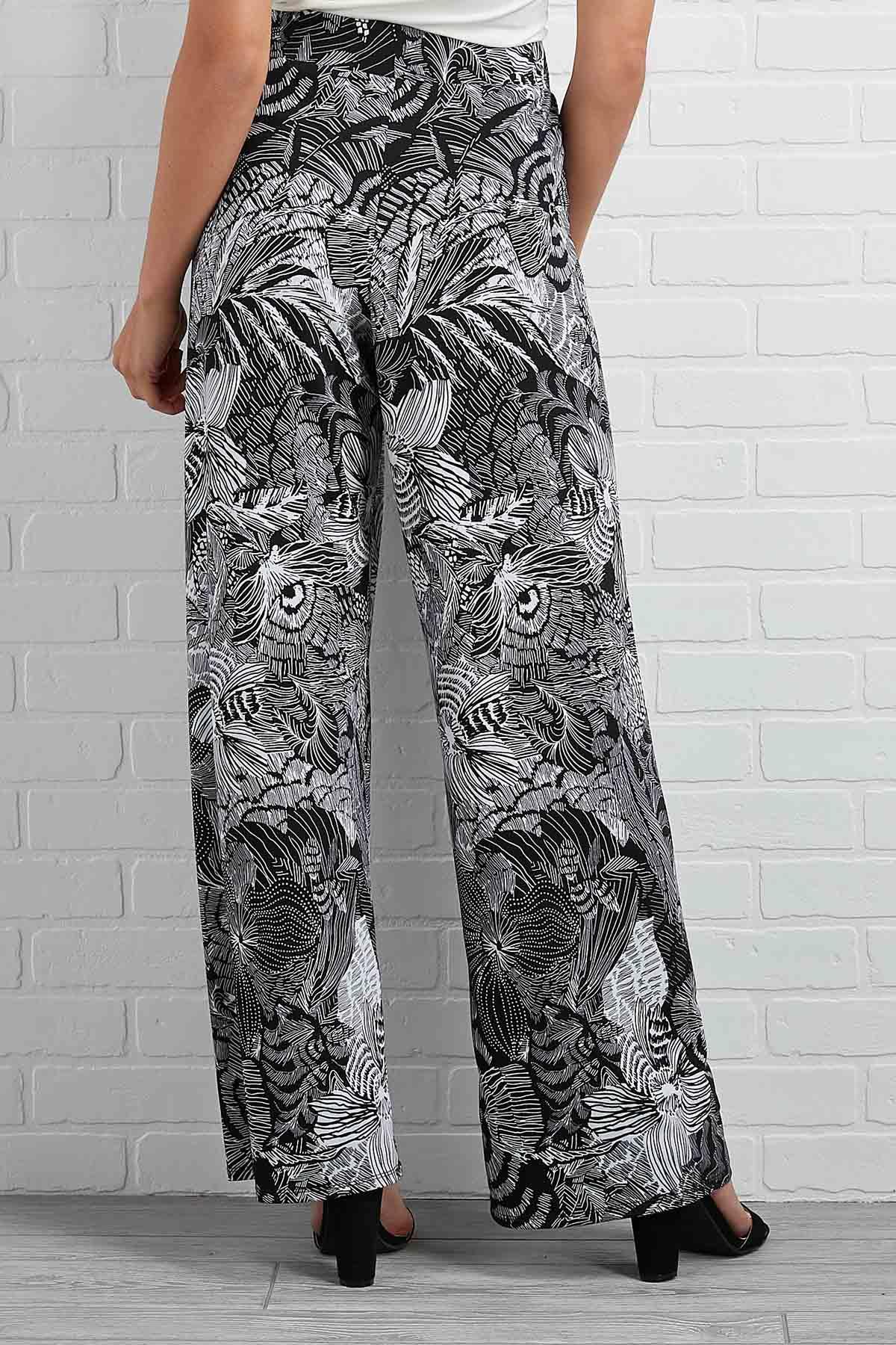 Sketch Floral Pants
