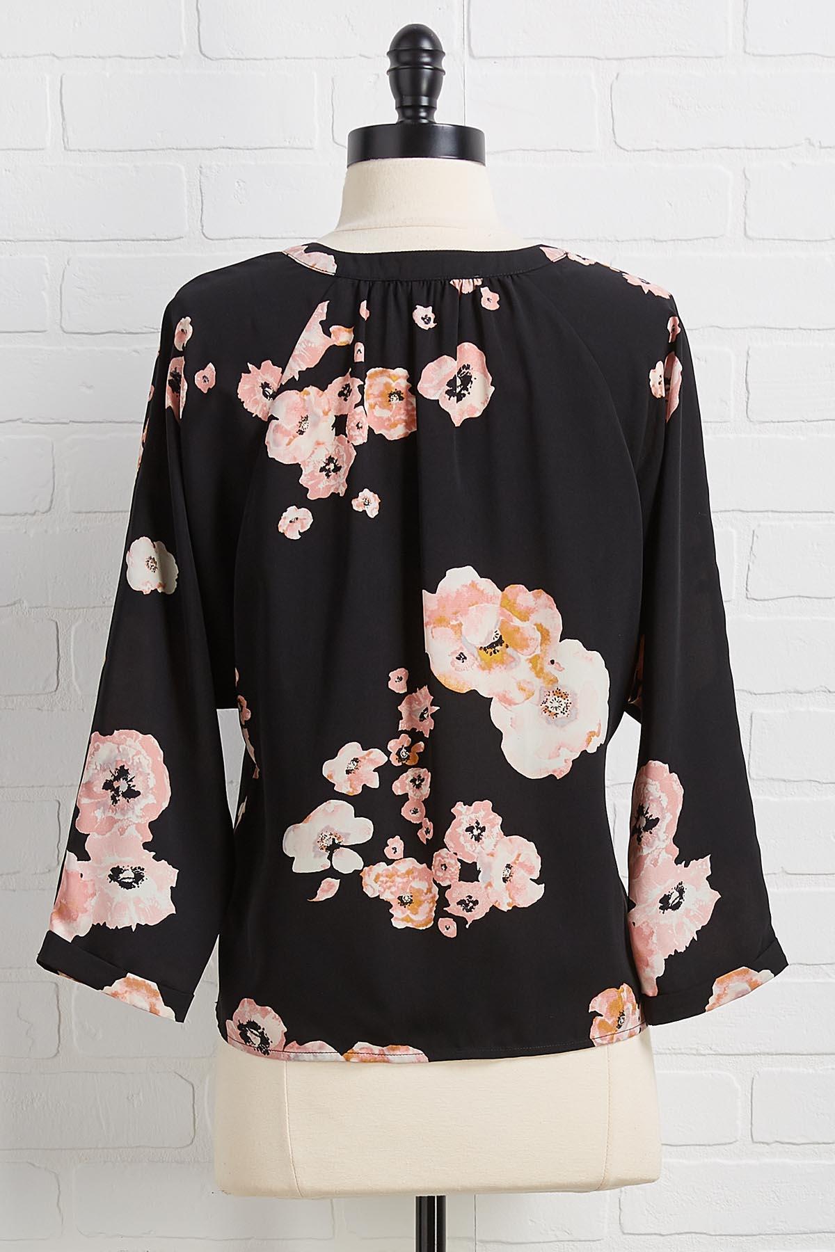 Love Blooms Top