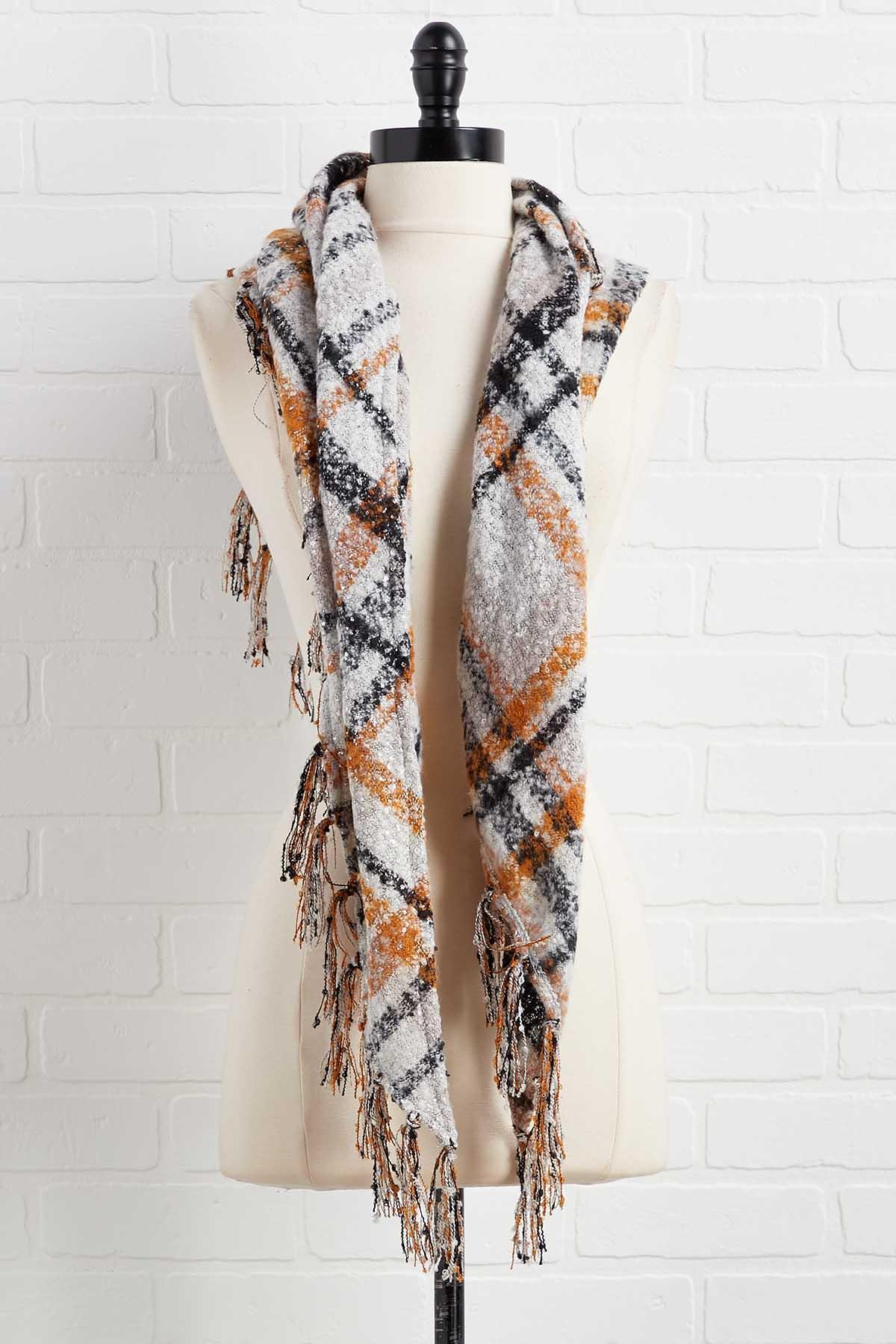 Triangle Sweater Scarf