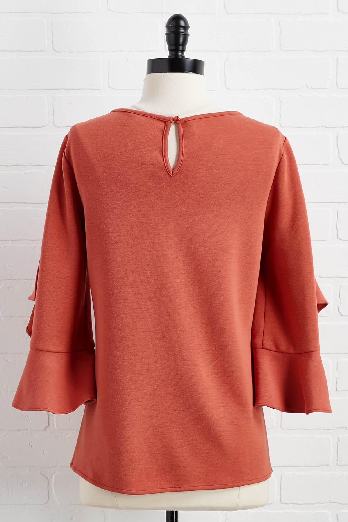 Don ` T Be Dramatic Sleeve Top