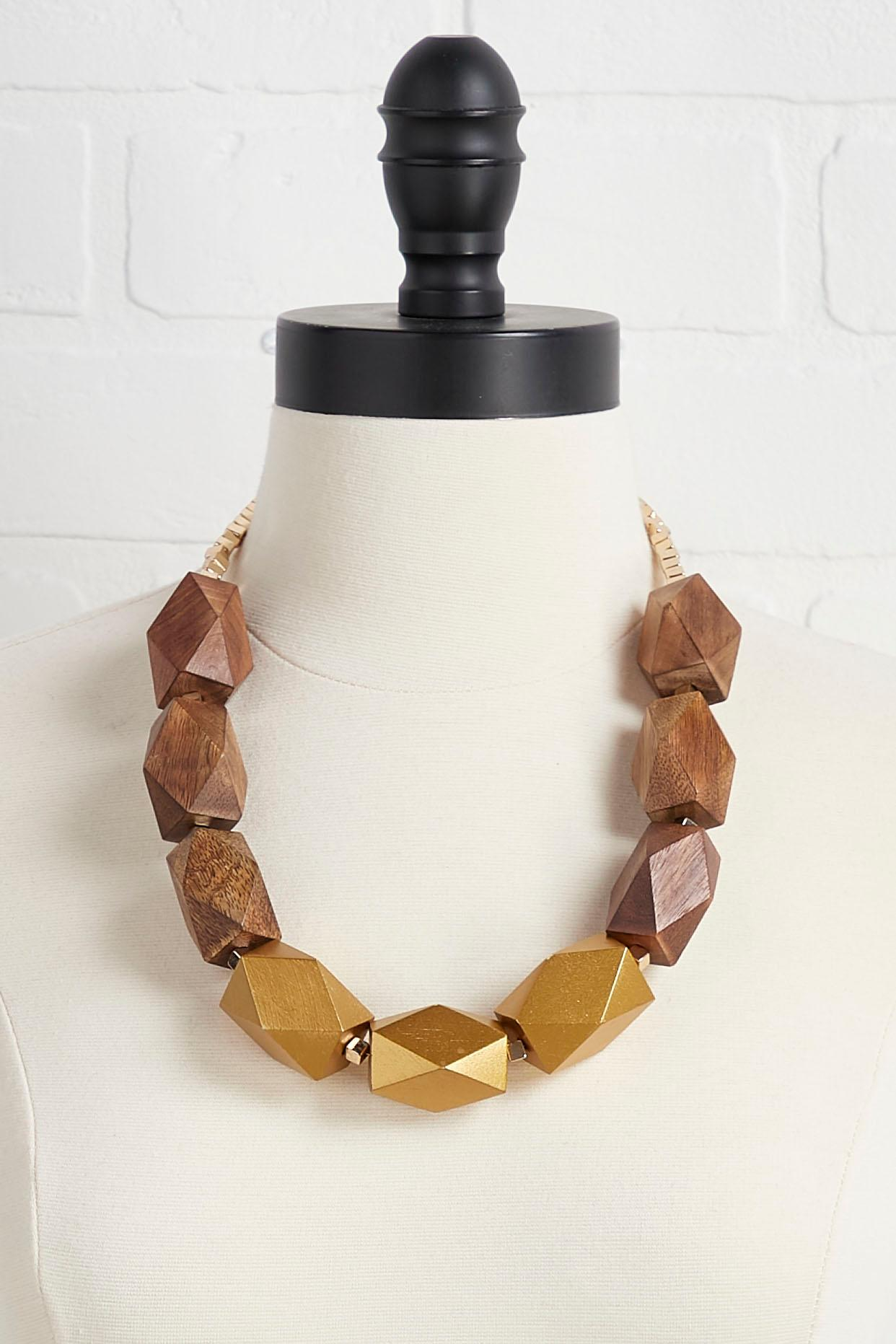Wooden You Like To Know Necklace