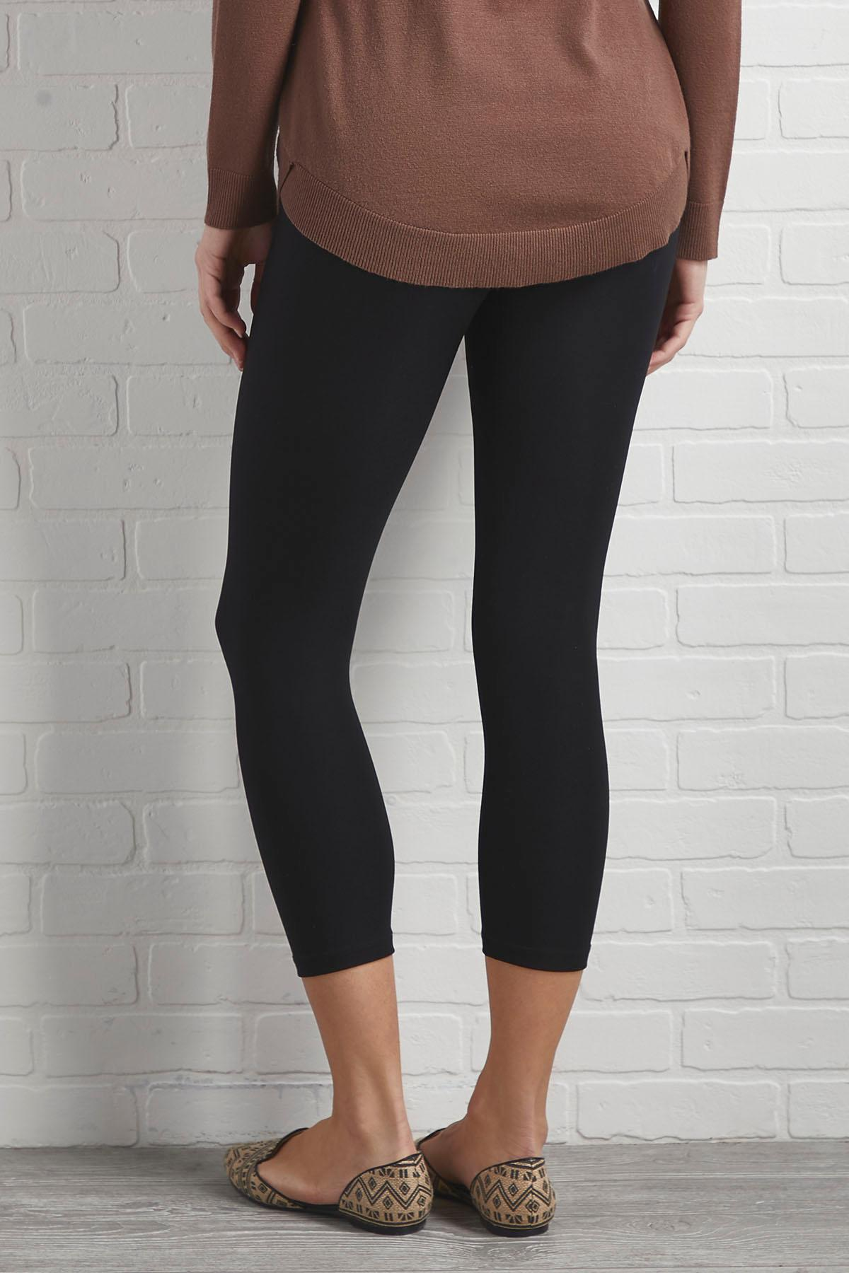Ponte Cropped Leggings