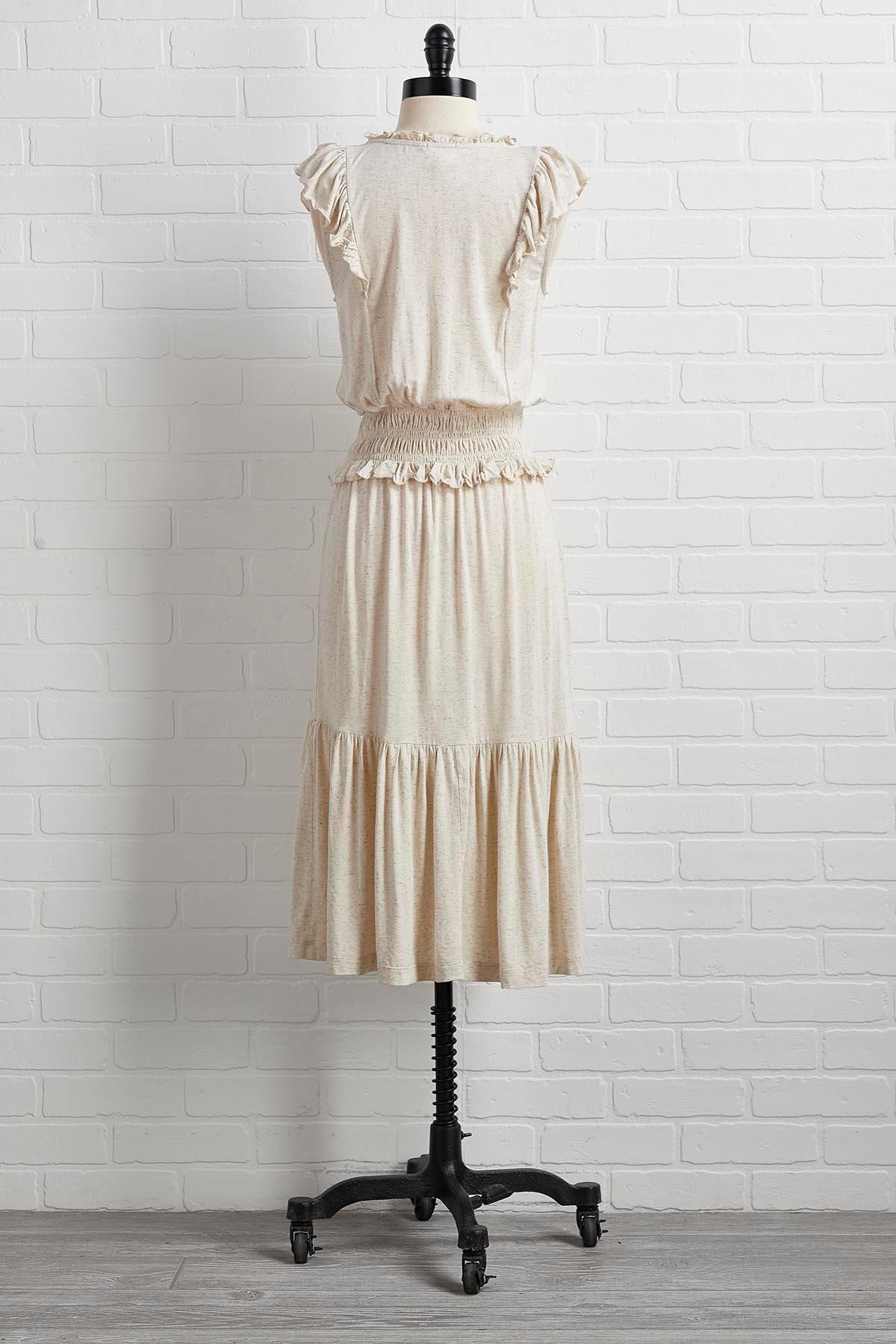 Like A Natural Woman Dress