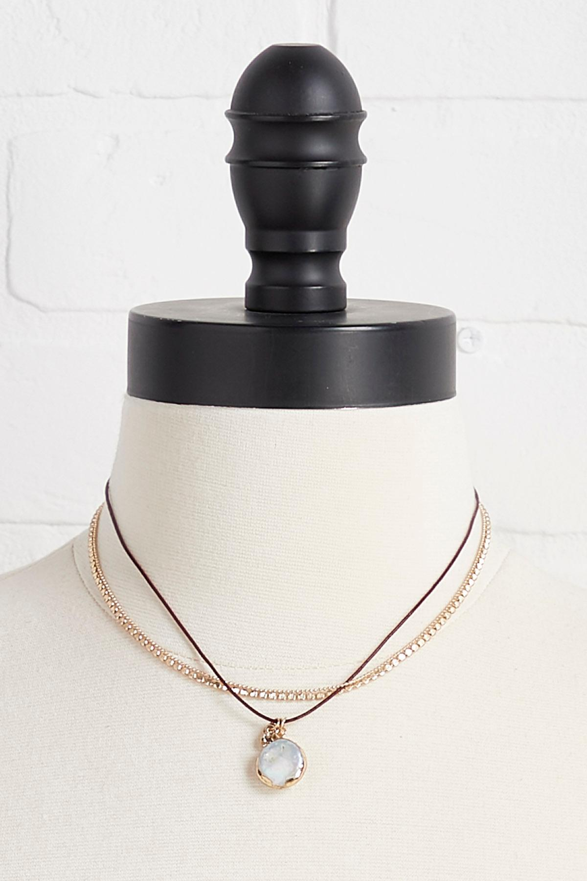 Pendant Choker Necklace