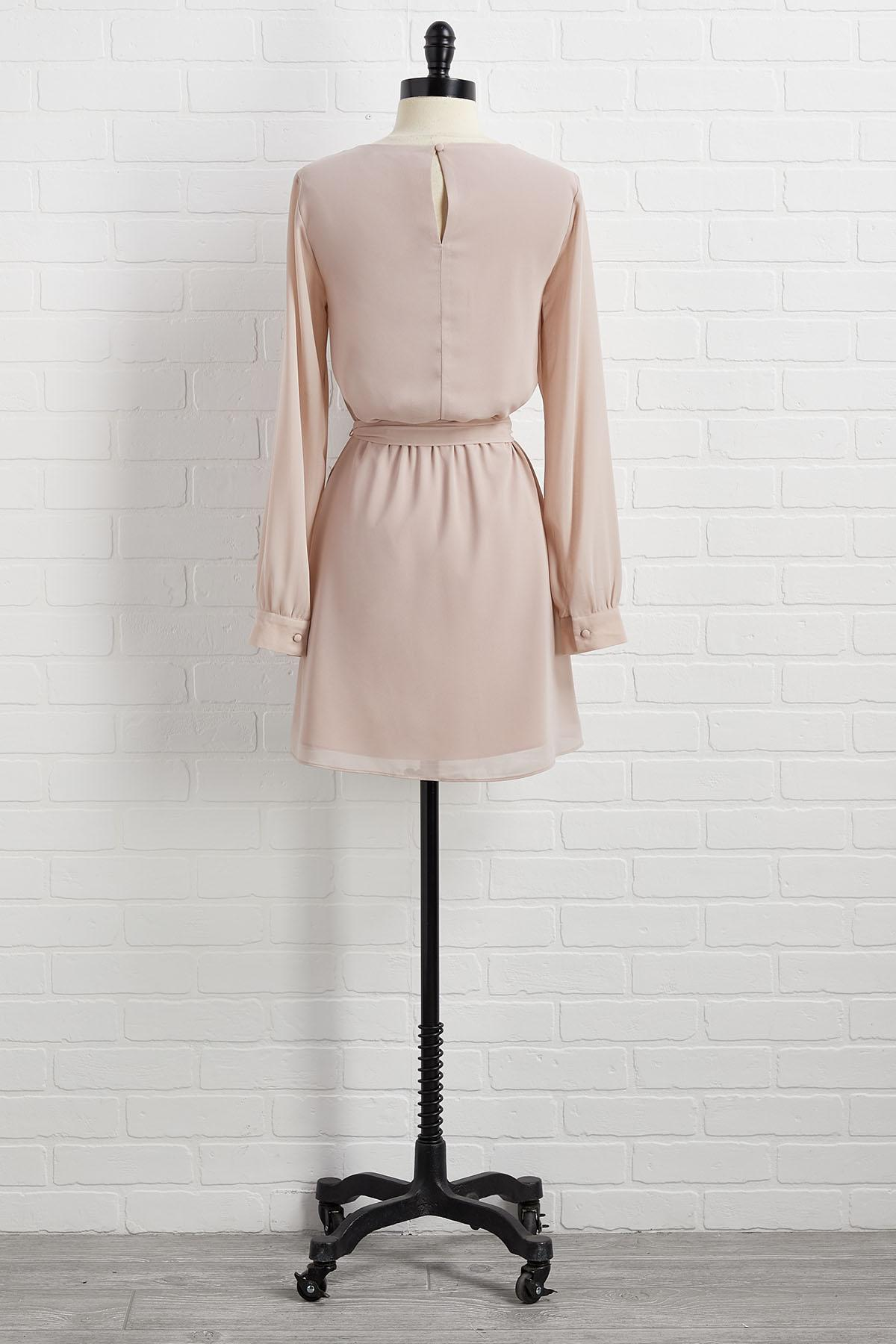 Nude To This Dress