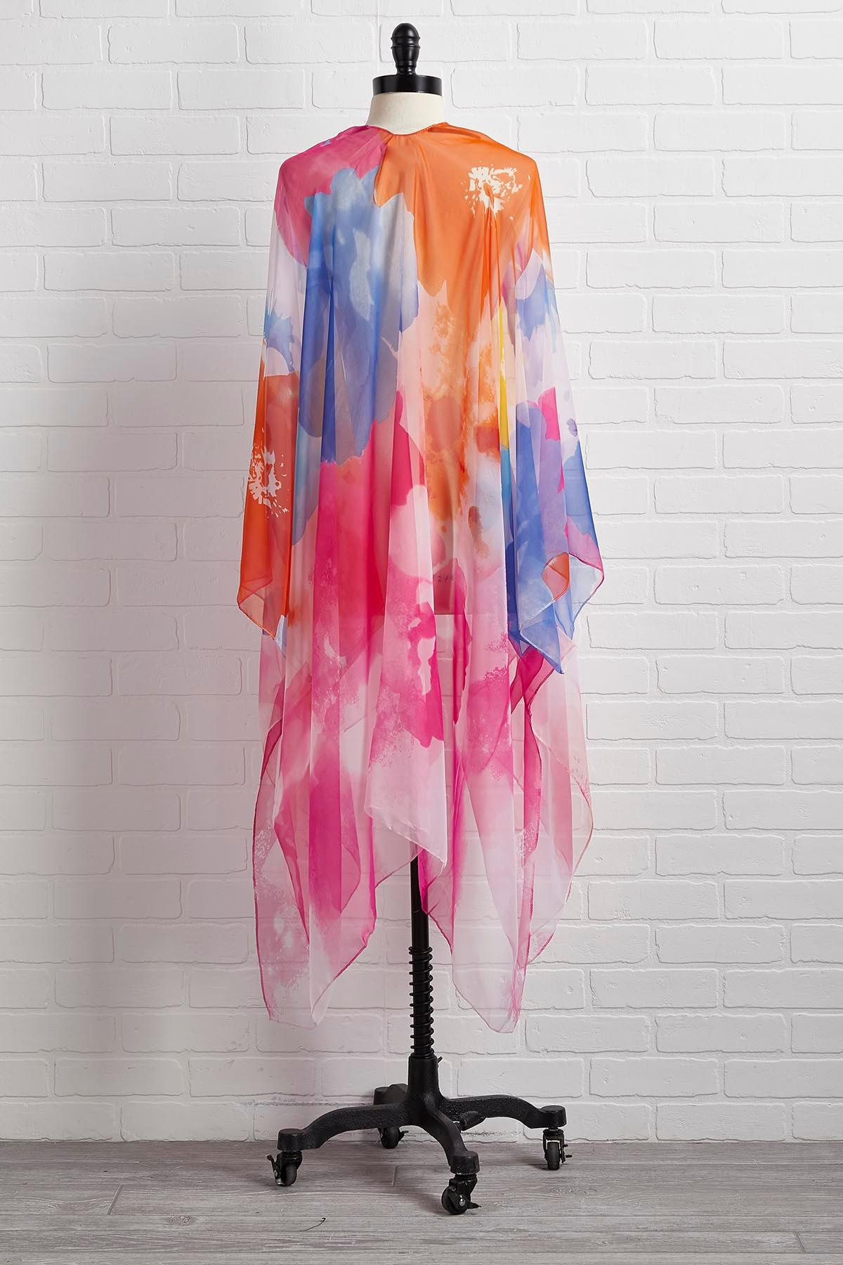 Colors Of The Wind Kimono