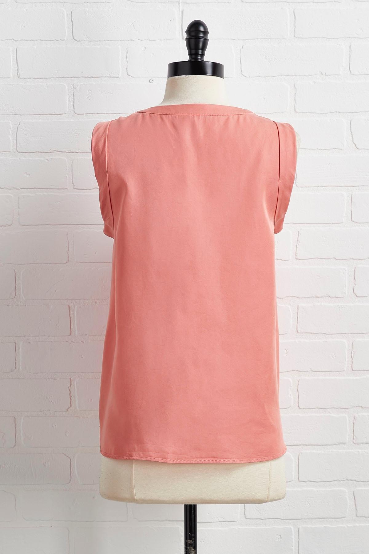 Happy As Can V- Neck Tank