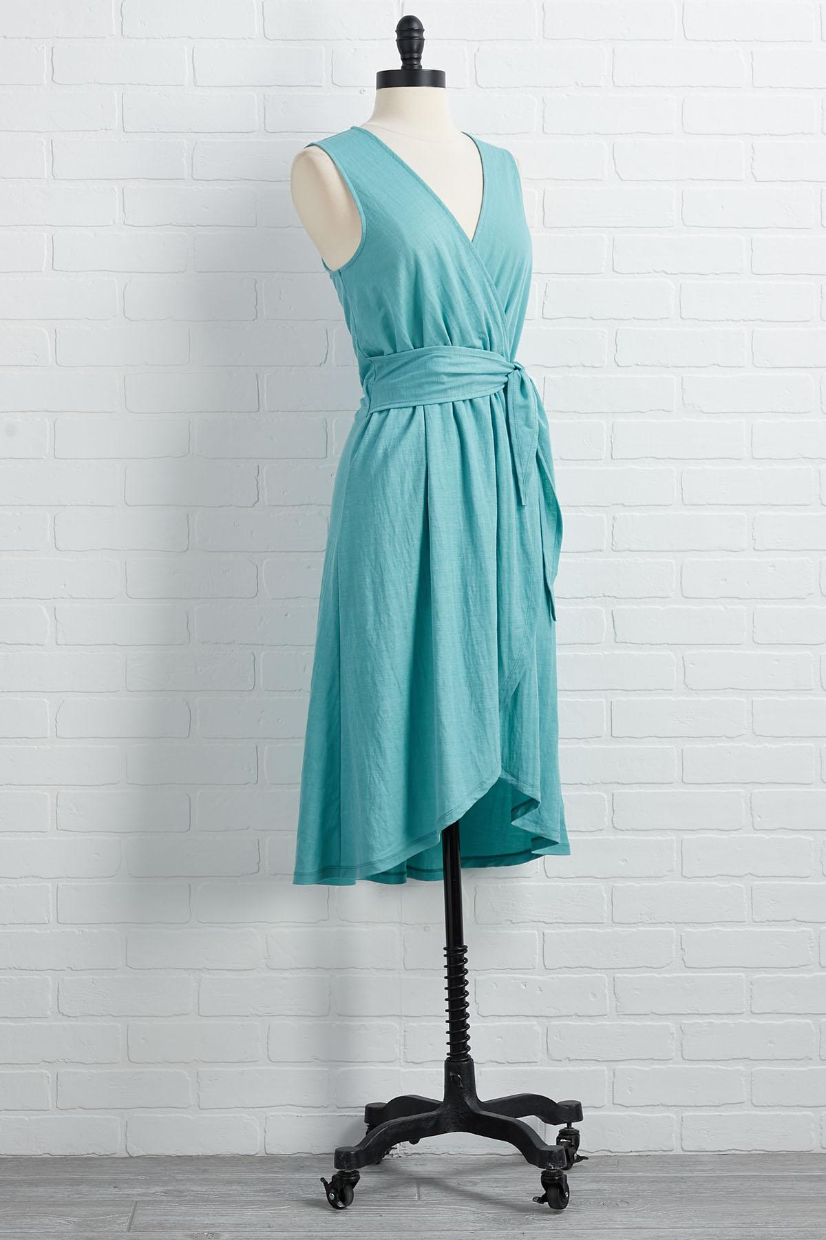 Not Over Teal It's Over Dress