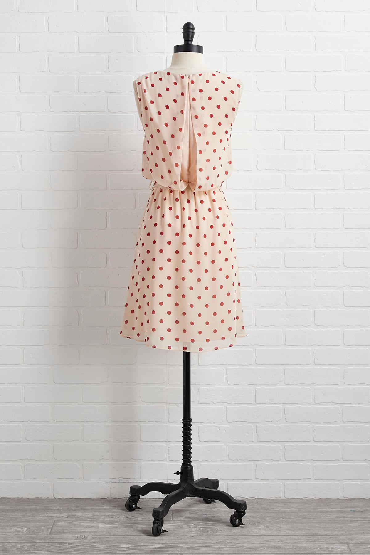 Dot You Think About It Dress