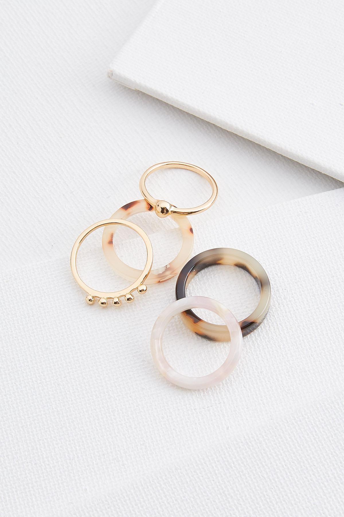 Resin Ring Set