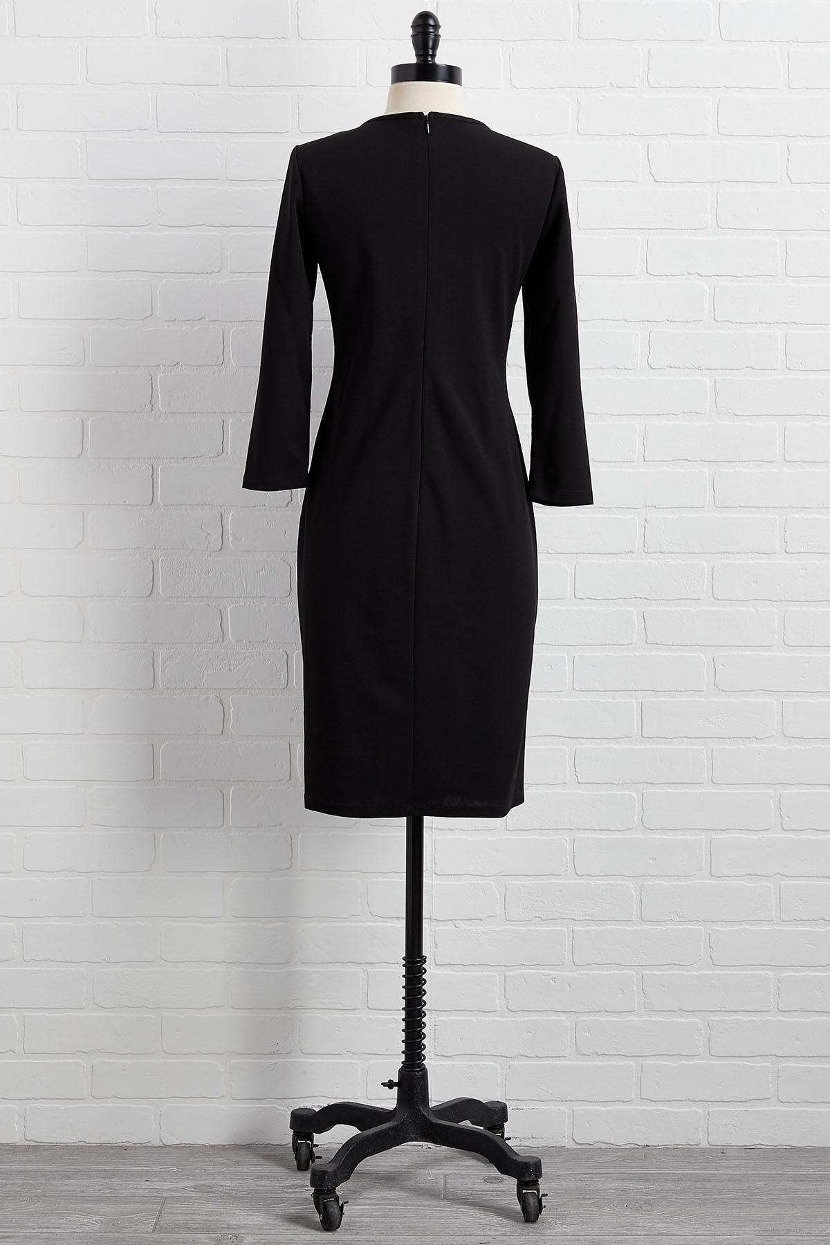 I Spy Square Neck Dress
