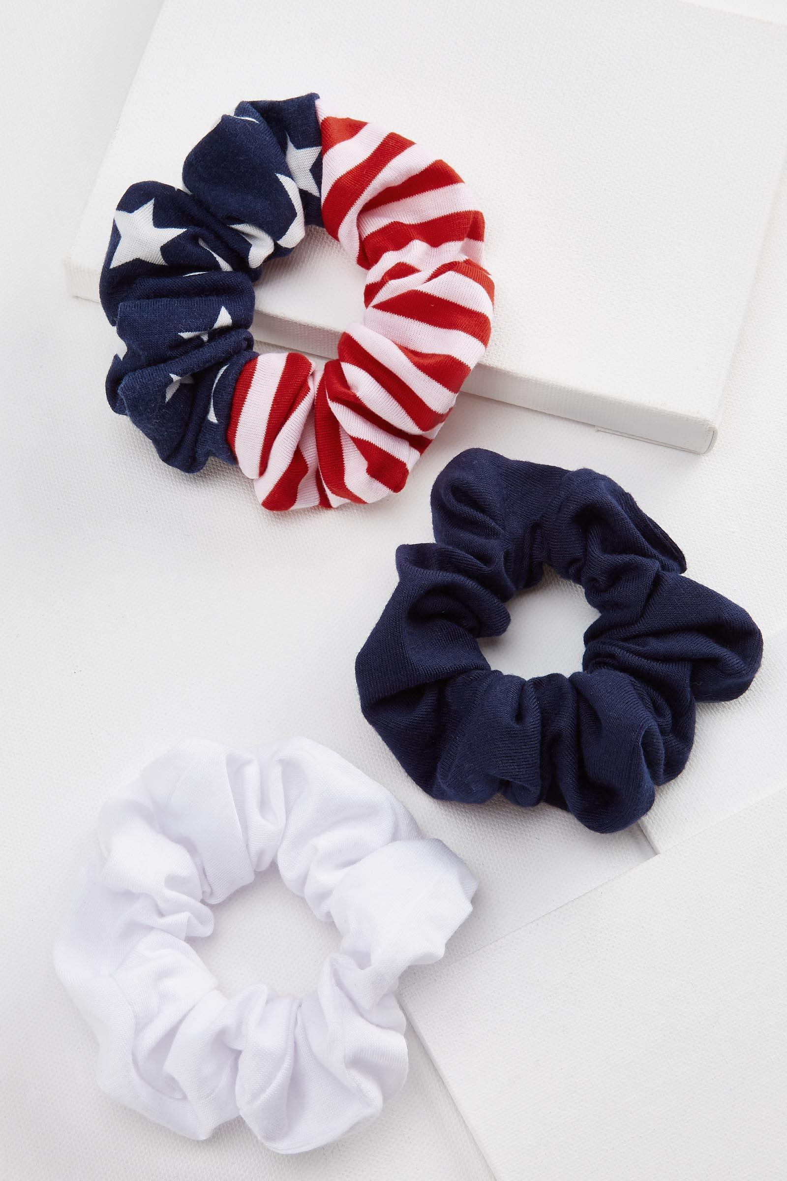 Star Spangled Scrunchie Set