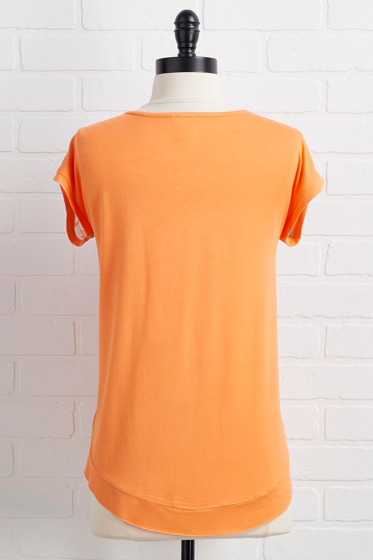 Orange You Sweet Top
