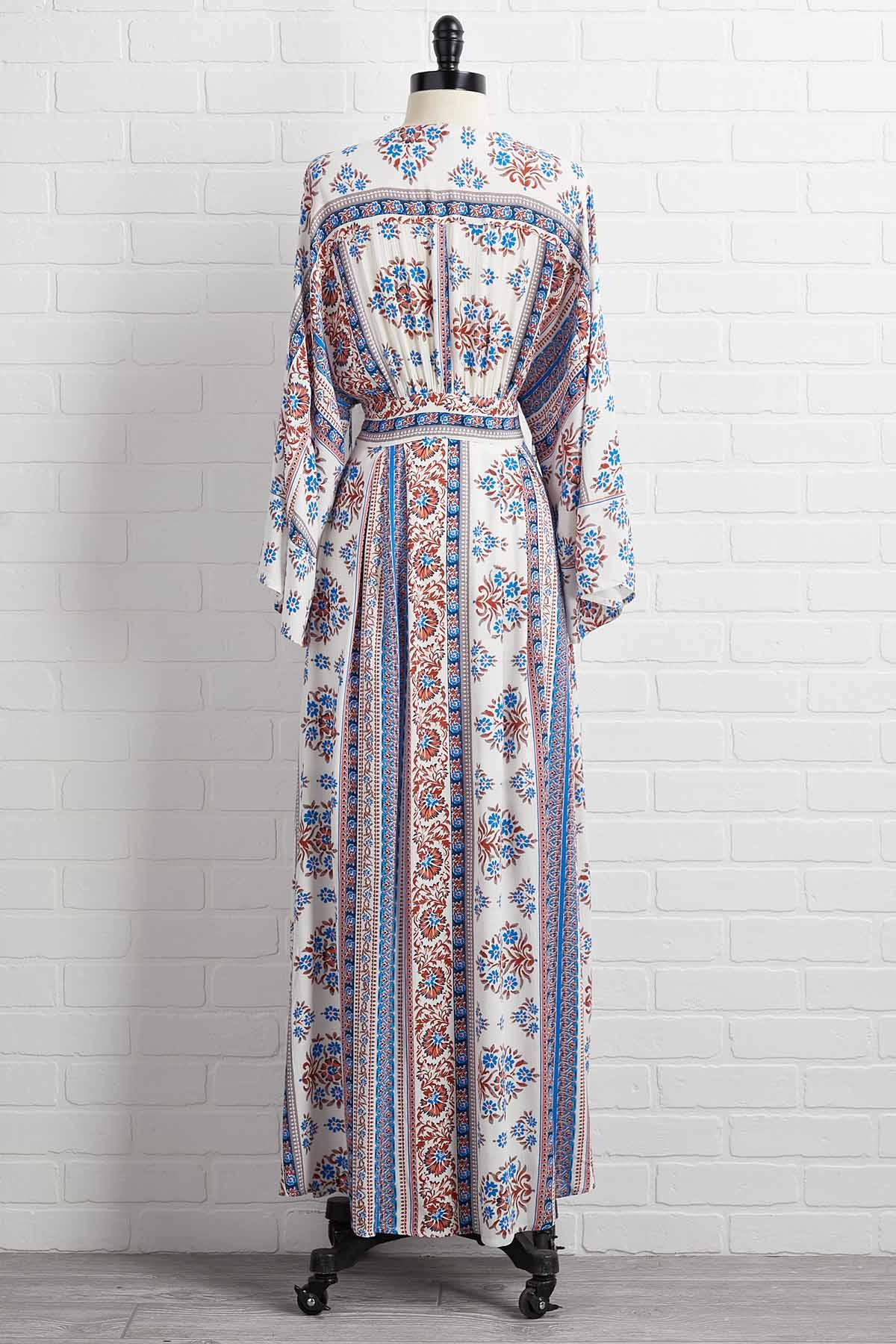 Go With The Flow Maxi Dress