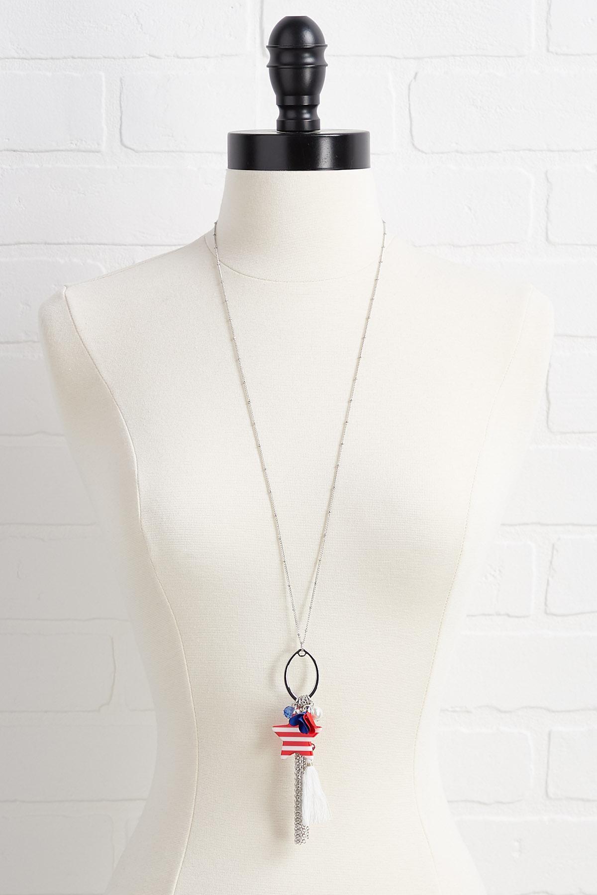 Americana Pendant Necklace